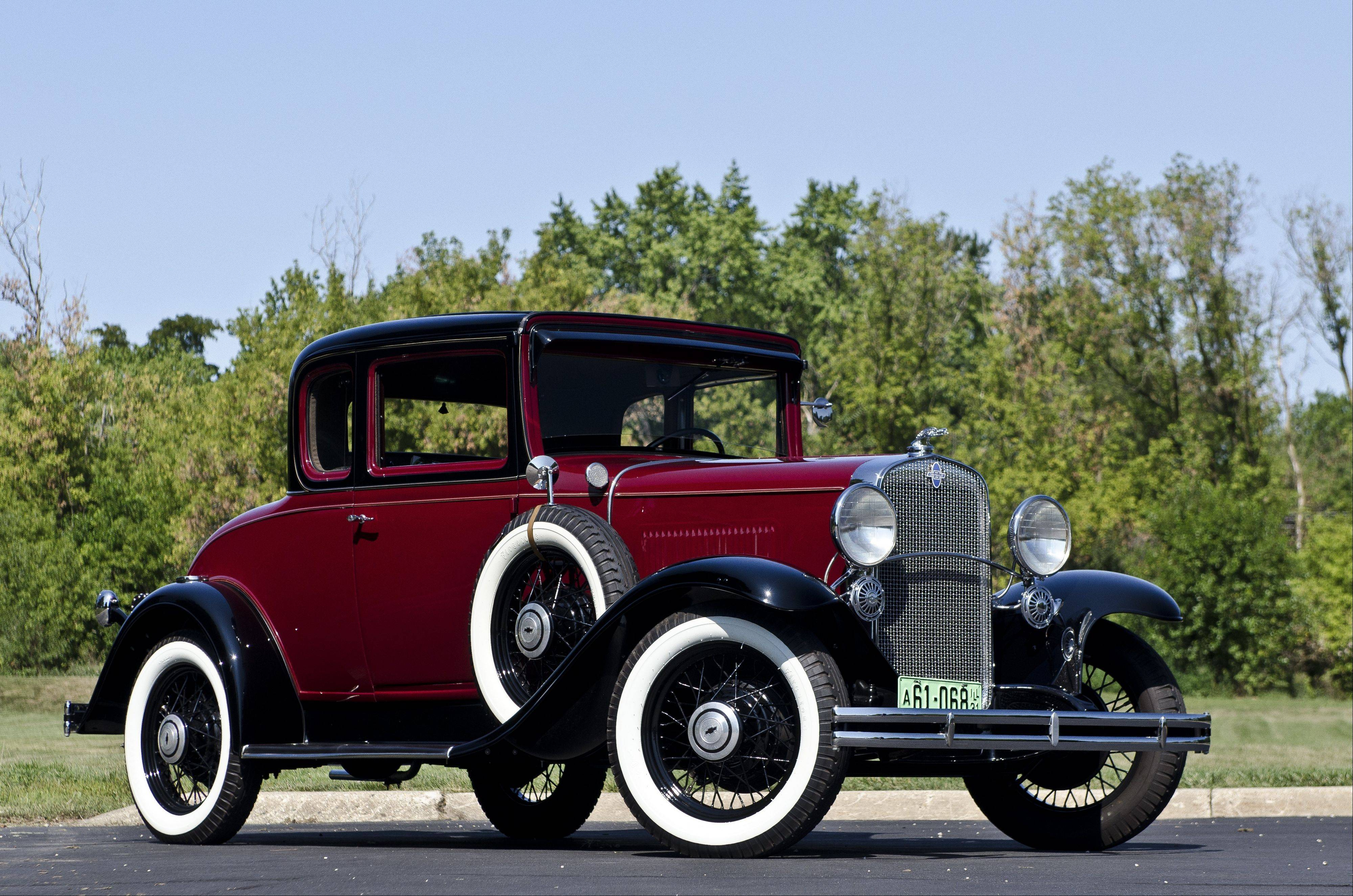 1931 Chevrolet Deluxe Sport Coupe