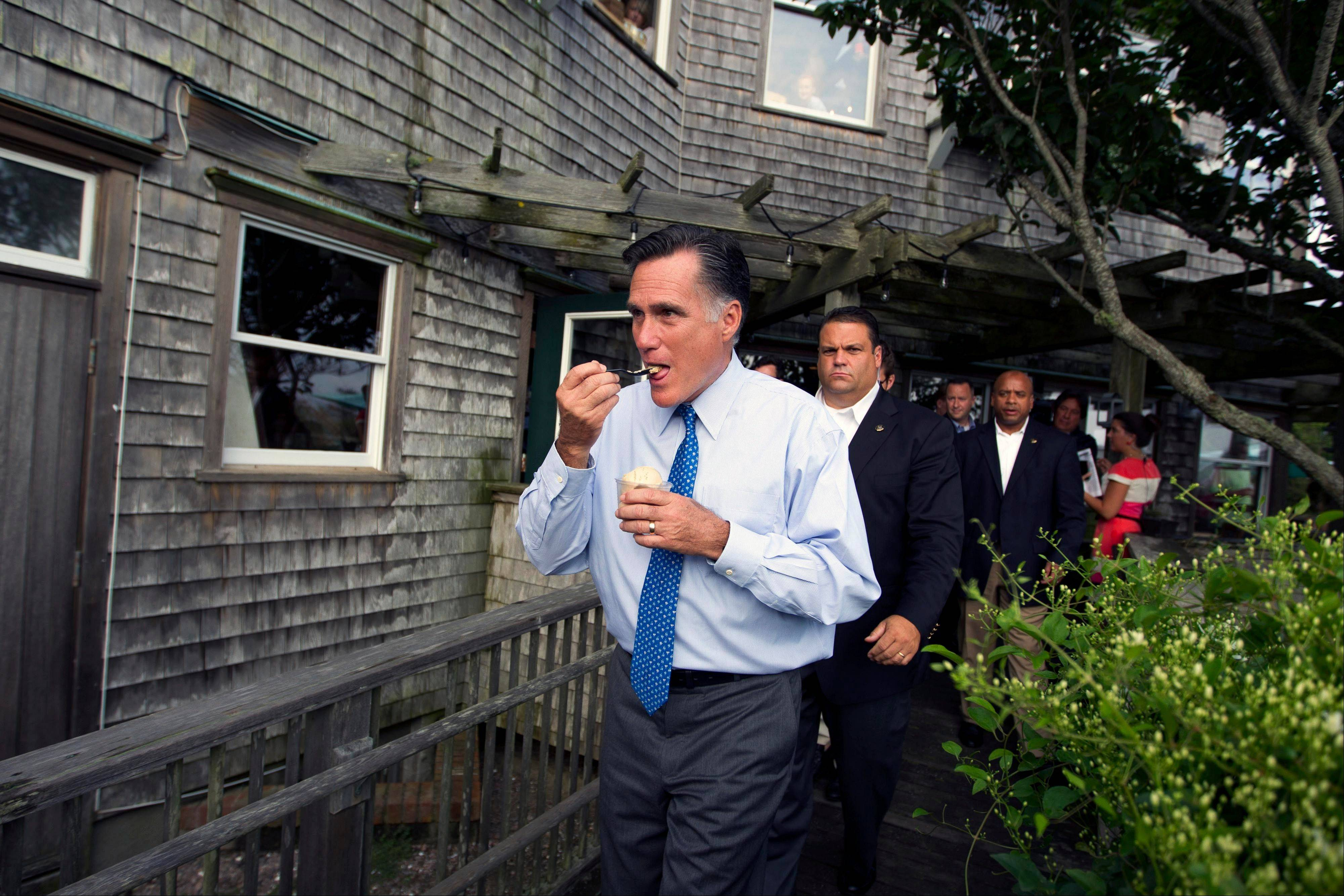 Republican presidential candidate Mitt Romney is ready to face New Hampshire voters and answer their questions, especially about the Republican plan for Medicare that has left some seniors skittish.
