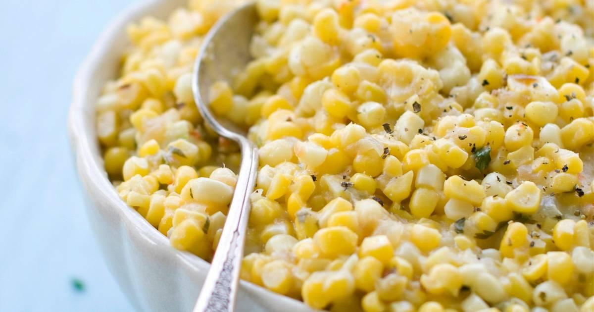 Spicy 'Creamed' Corn