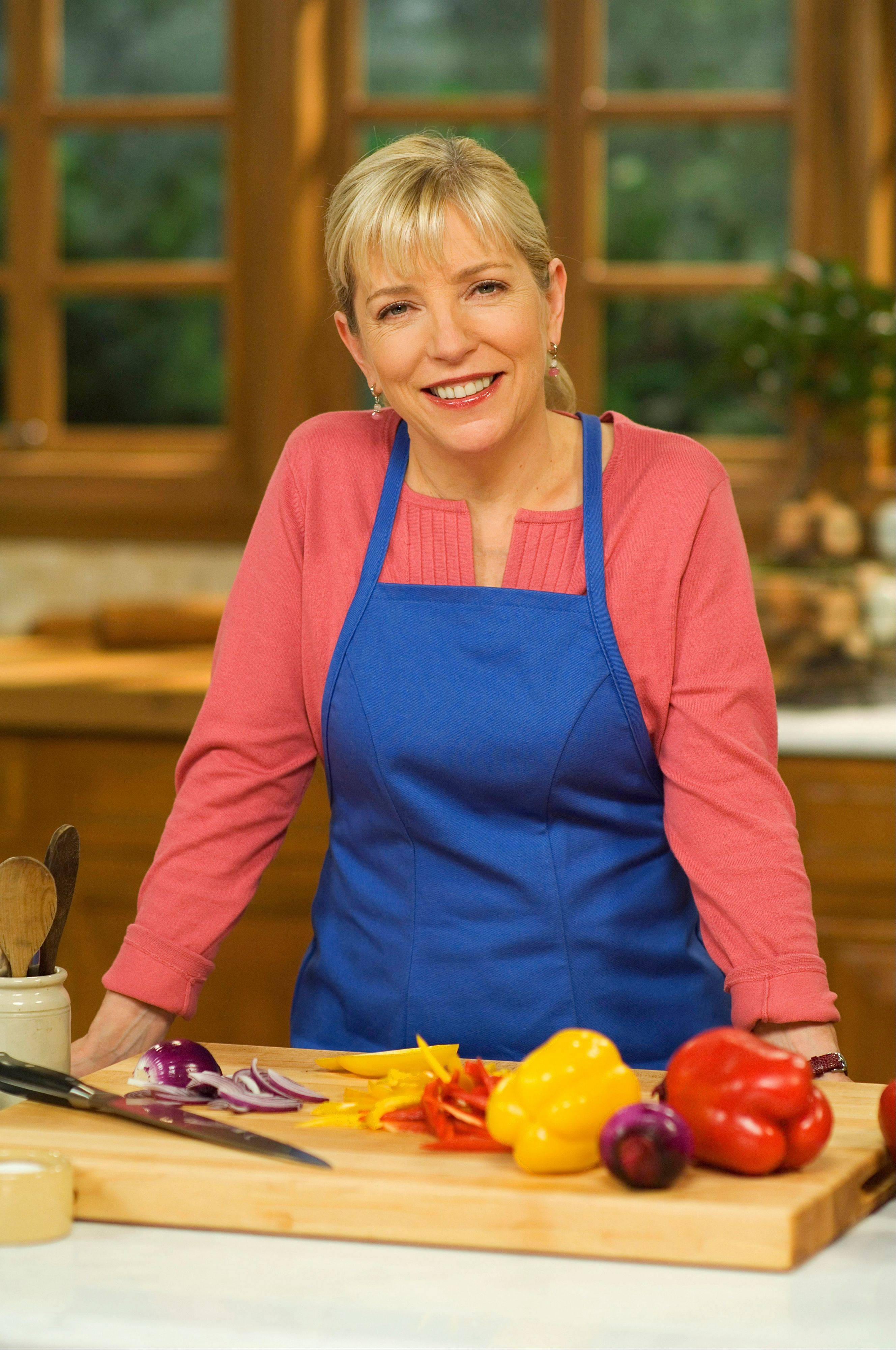 "Sara Moulton stars on PBS's ""Sara's Weeknight Meals."""