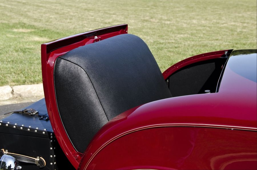 A rumble seat was a popular feature of the 1931 Chevrolet sport coupe.