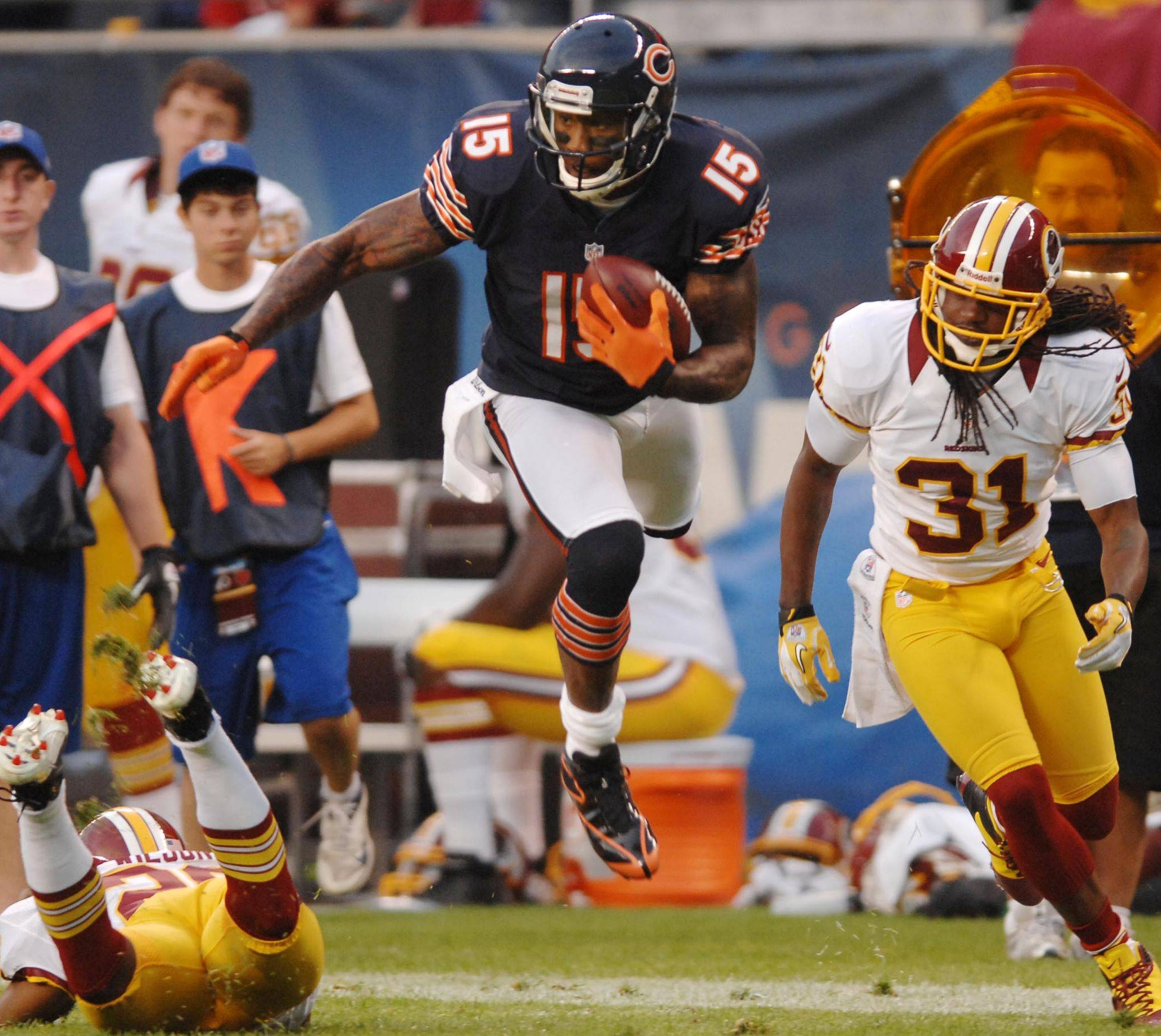 The addition of wide receiver Brandon Marshall as a key target for quarterback Jay Cutler is just one of the many reasons to like the Bears' chances, says Mike North.