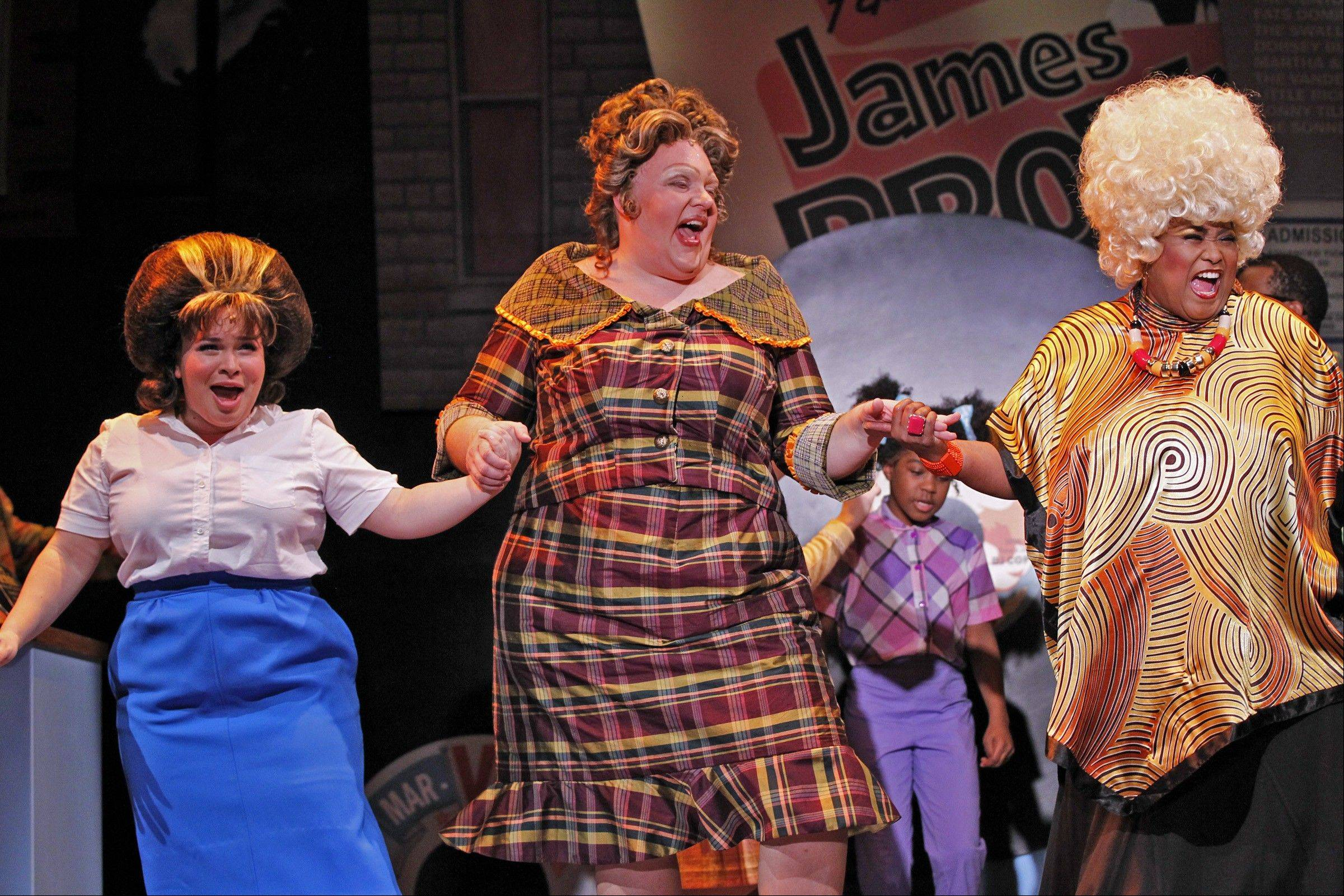 "Drury Lane Theatre's revival of ""Hairspray""has been nominated for six 2012 equity Jefferson Awards, including best large-theater musical."