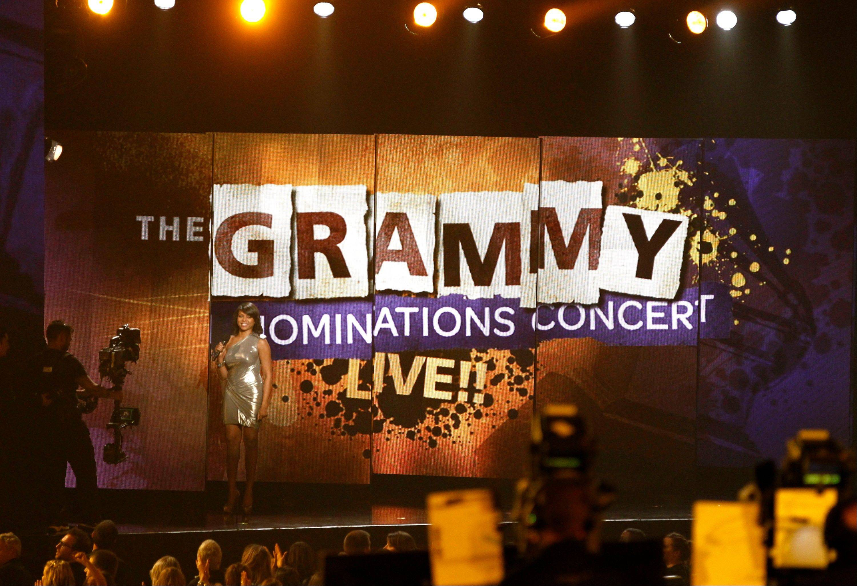 Taraji P. Henson last year announced the Grammy song of year nominations in a concert in Los Angeles. The National Academy of Recording Arts & Sciences will have its annual live nominations concert special in Nashville Dec. 5.