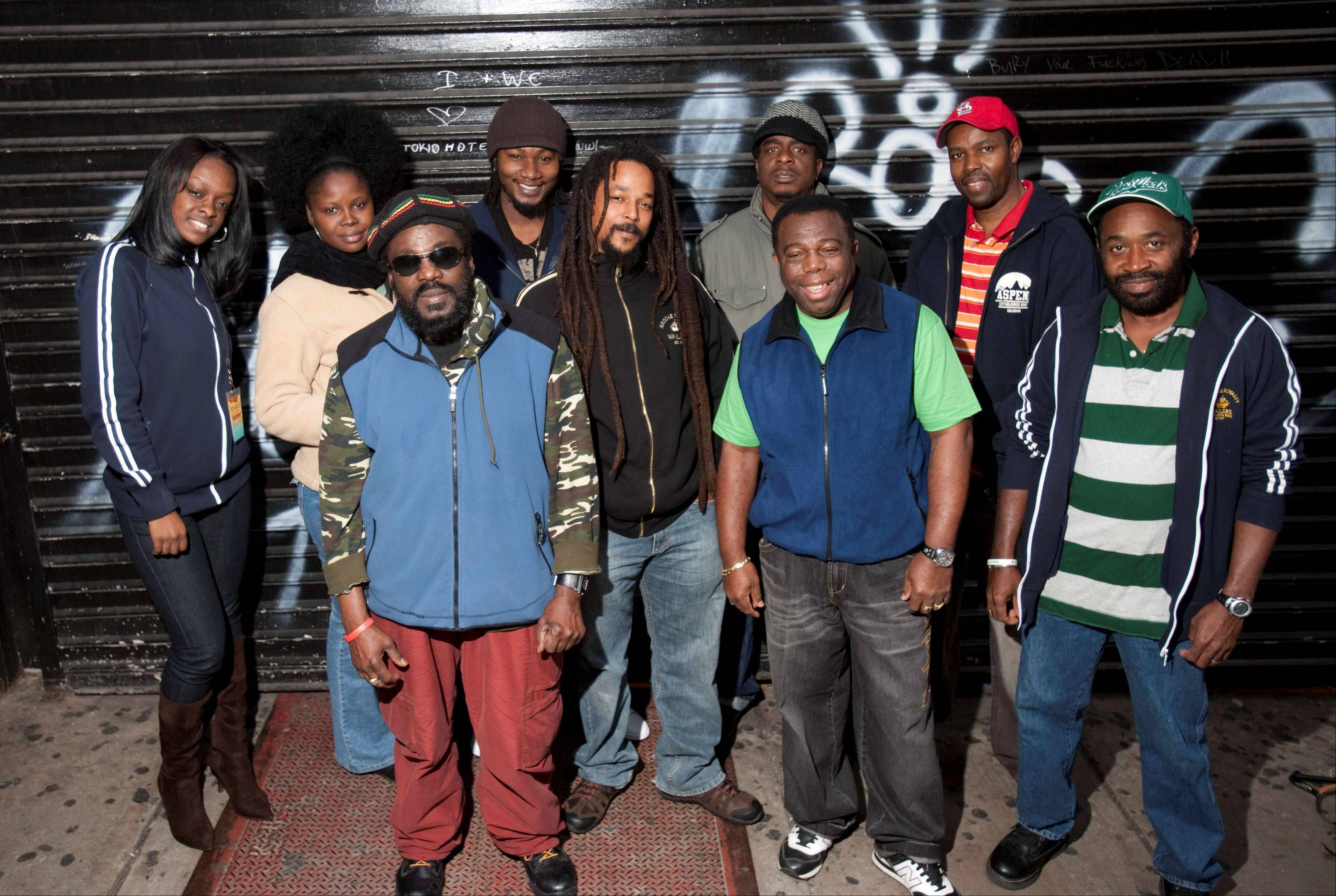 The Wailers perform reggae at Bands in the Sand IV at Sideouts in Island Lake.