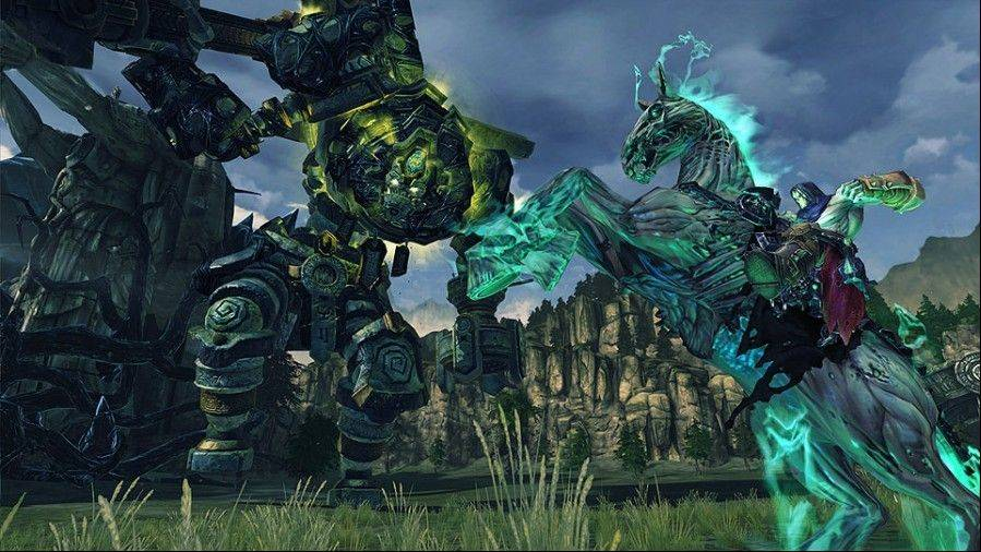 "Despite the grim subject matter, ""Darksiders II"" is almost gleeful, with vivid character design, lively animation and a wicked sense of humor."