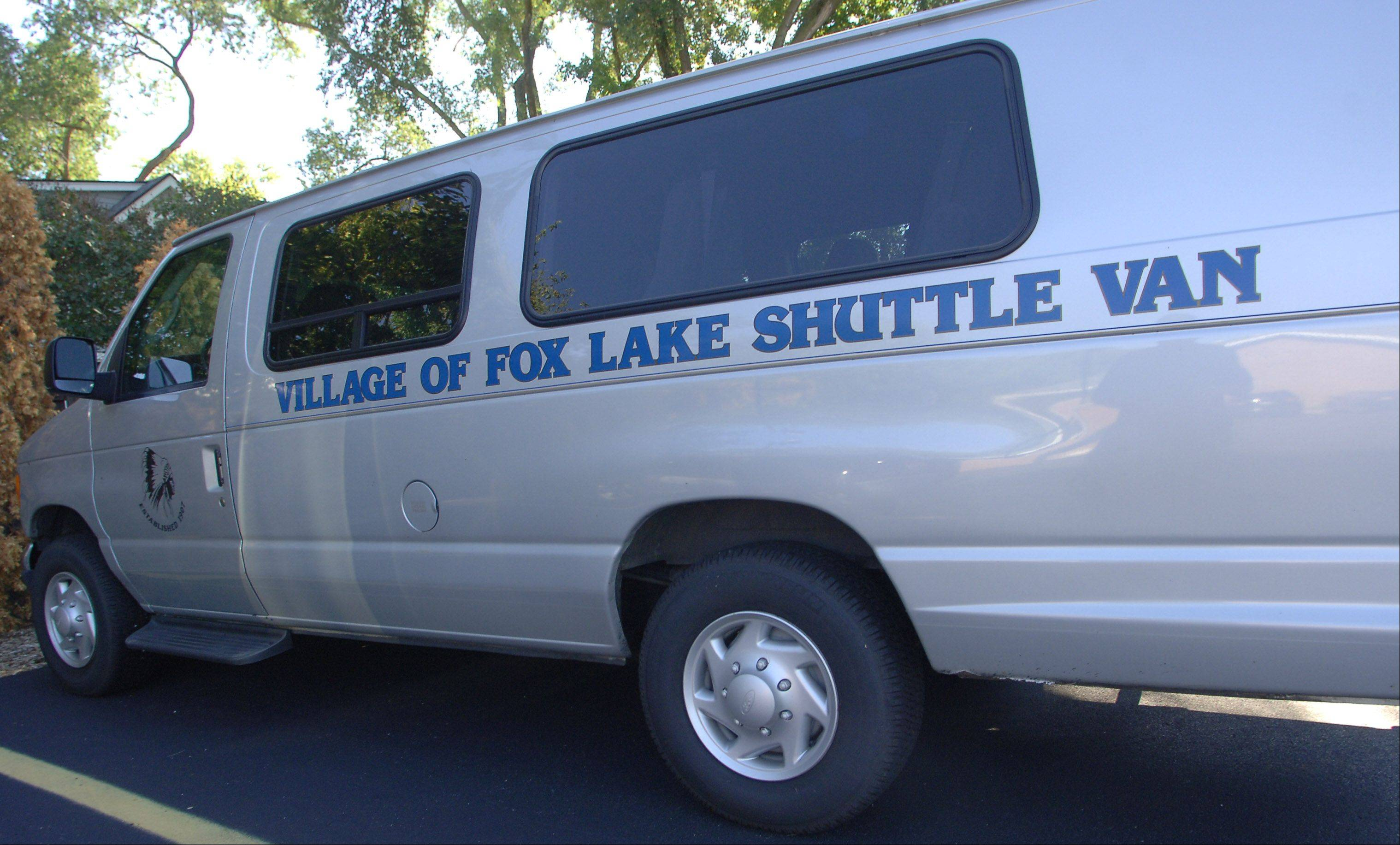 Fox Lake has discontinued its senior shuttle van service after 12 years due to escalating costs.
