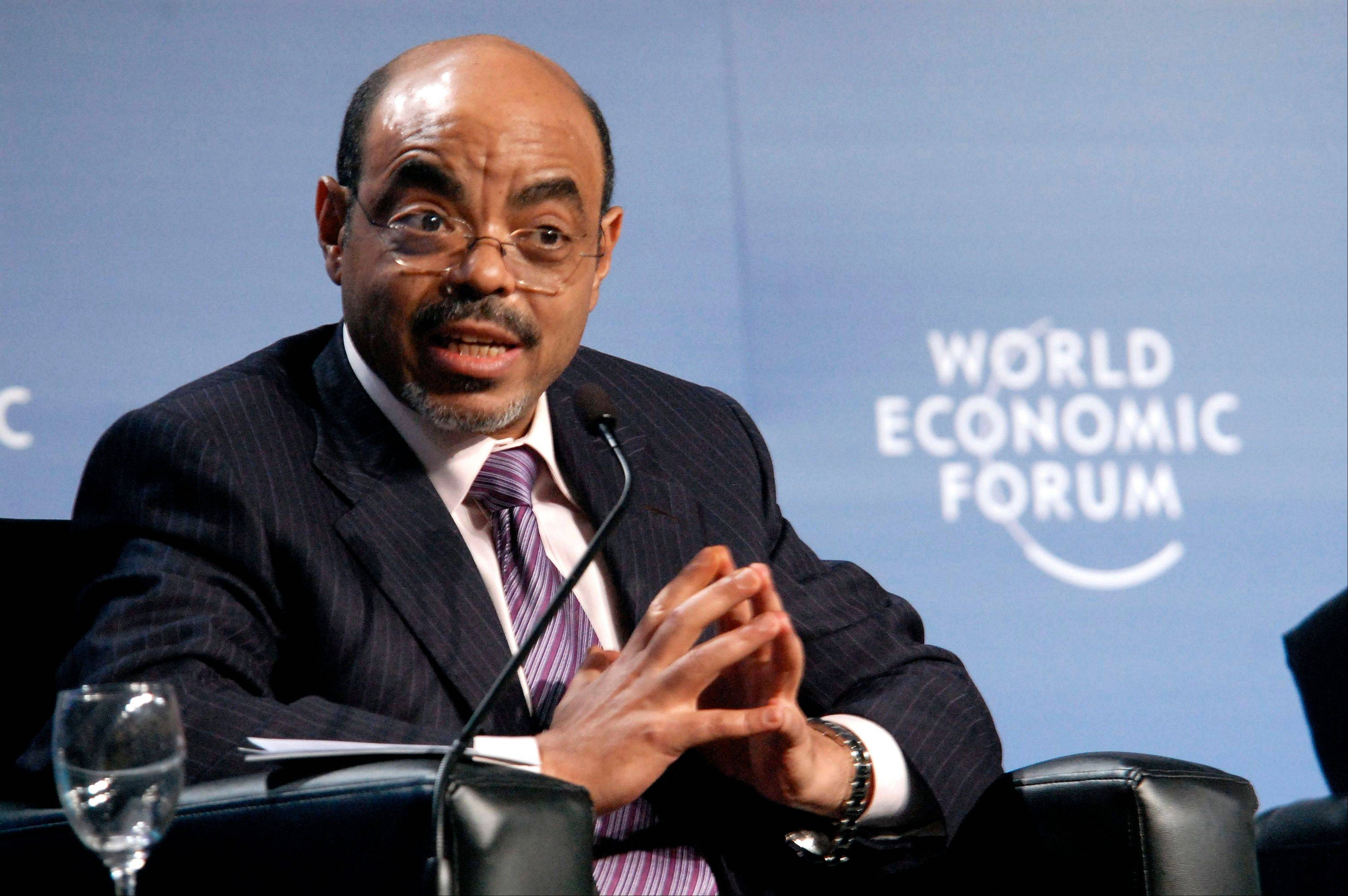 Ethiopian Prime Minister Meles Zenawi died Monday, Aug. 20, 2012 following weeks of illness, Ethiopian State media reported. He was 57.