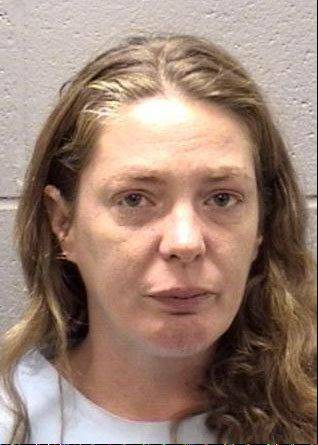 Nora Peterson, 34, of Elgin has been charged with murder after striking her boyfriend in the head with a frying pan, causing him to fall and later die, according to police.