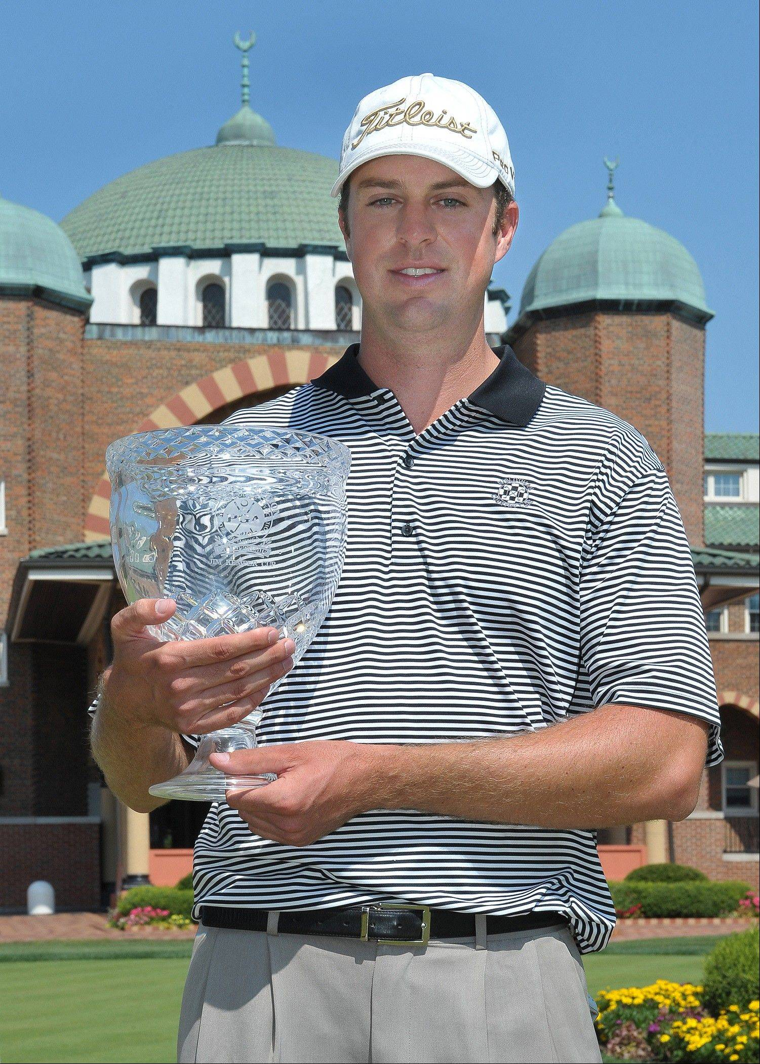 Frank Hohenadel, who won the 89th Illinois PGA title last year at Medinah Country Club, is looking forward to seeing Team USA and Team Europe compete in the 2012 Ryder Cup next month. In the meantime, he'll try to defend his Illinois PGA title at Stonewall Orchard next week.