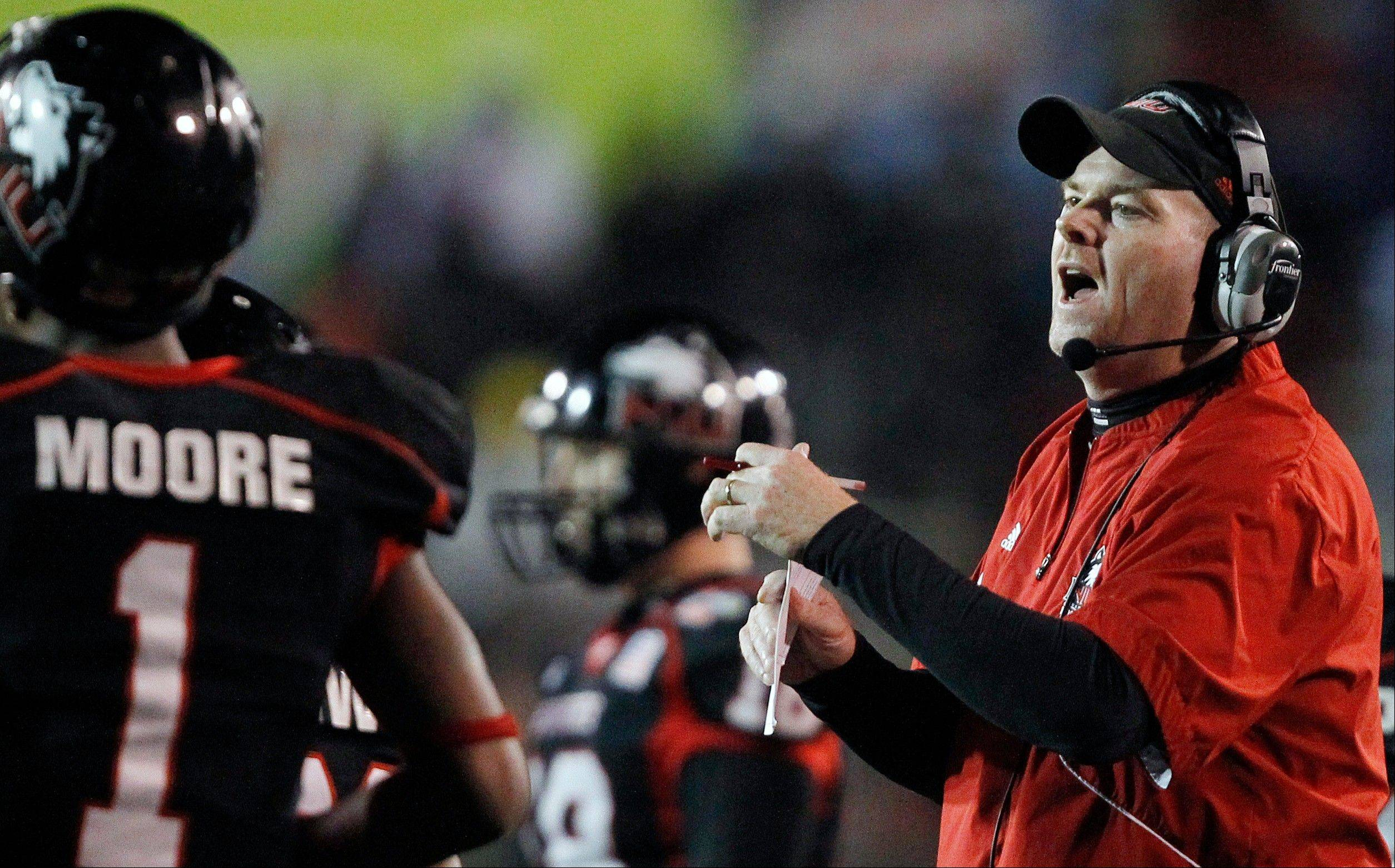 Northern Illinois coach Dave Doeren took his team to a bowl game last season and has the Huskies riding a nine-game win streak into their Sept. 1 opener against Iowa at Soldier Field.