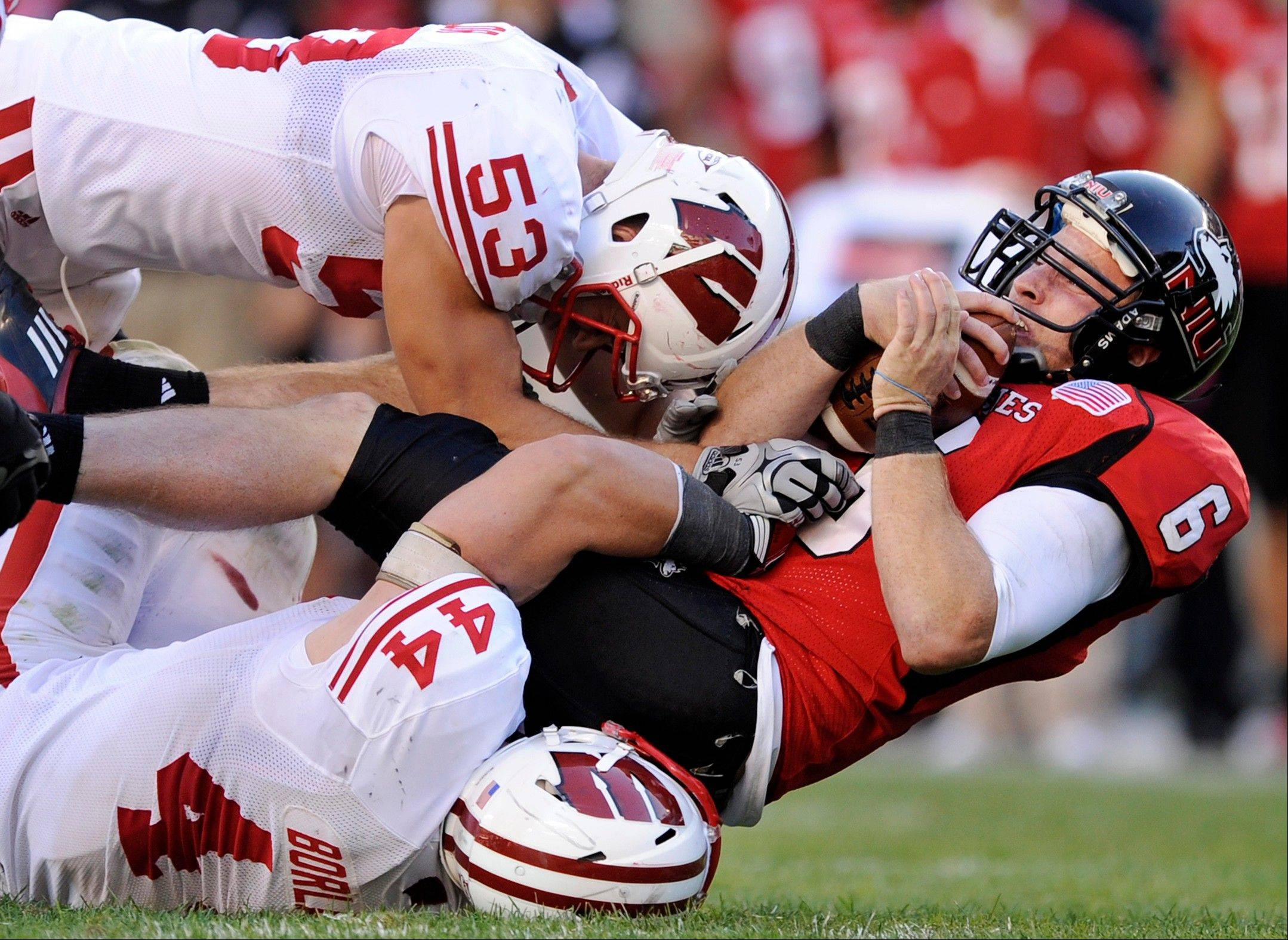 Northern Illinois quarterback Jordan Lynch got a rude awakeing last season against Wisconsin when he was brought down in the fourth quarter of their game. He'll be the starter Sept. 1 against Iowa at Soldier Field.
