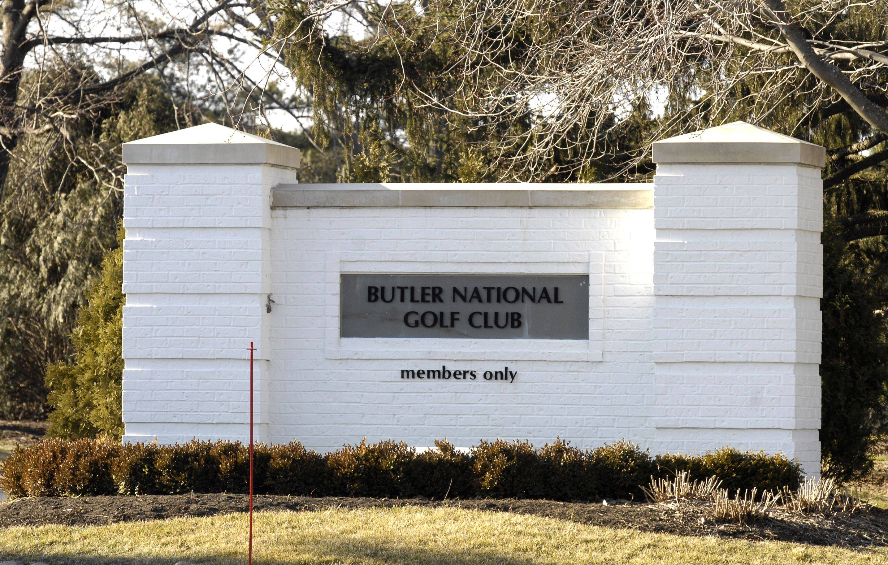 The Butler National Golf Club in Oak Brook is a men's-only club.