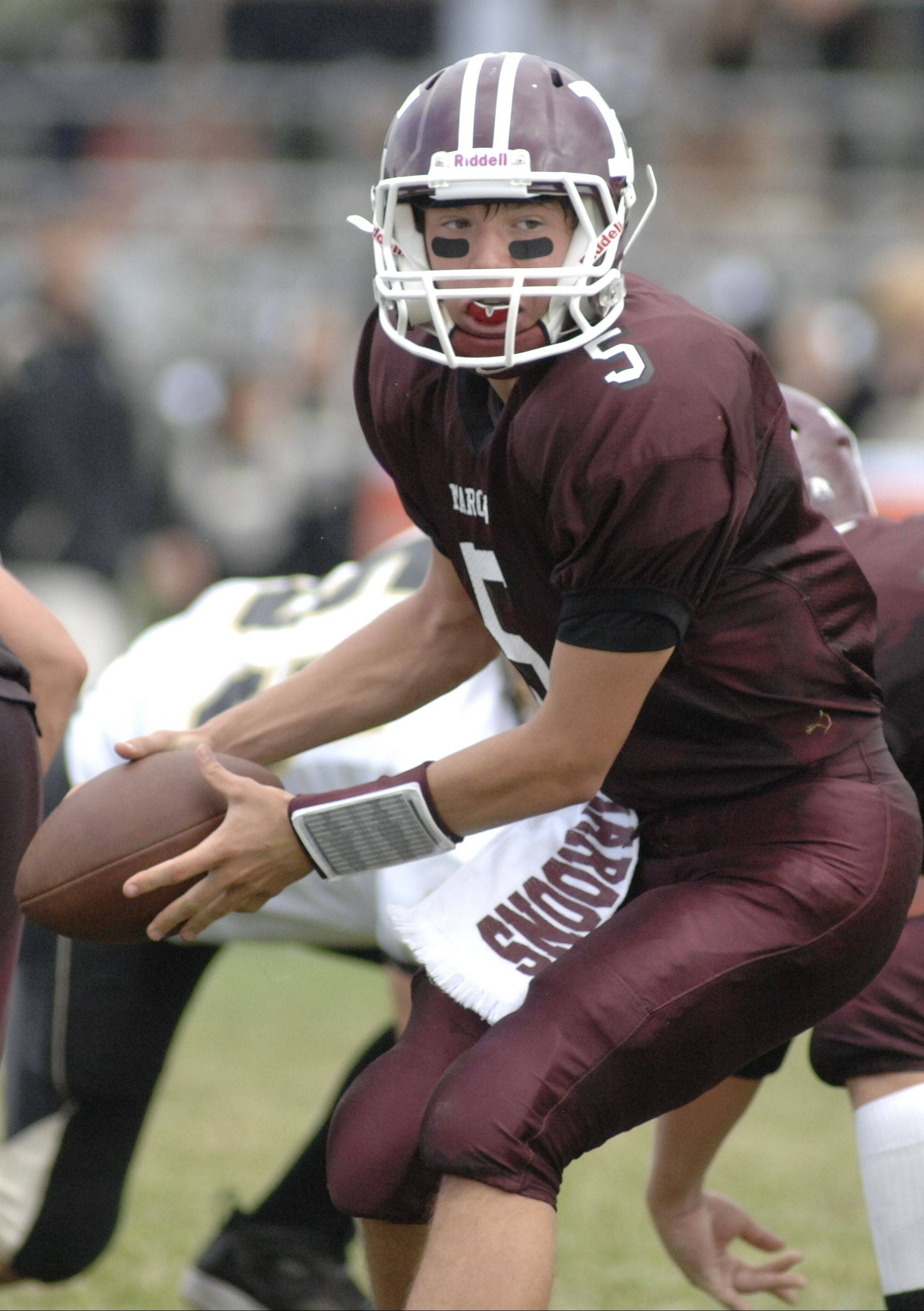Junior Ryan Sitter takes over the quarterback duties for Elgin this season.