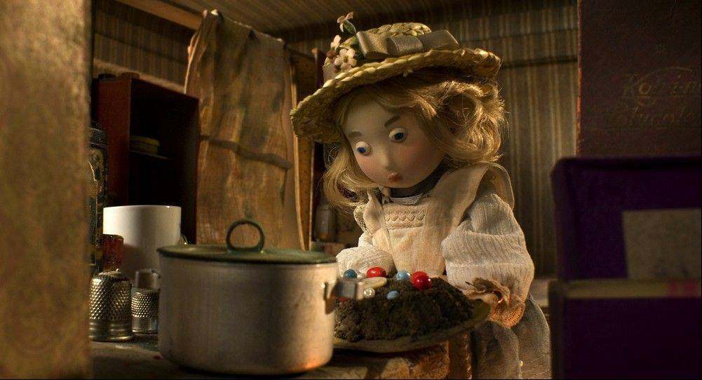 "Buttercup becomes a victim of toy-napping in the Czech Republic stop-motion animated fantasy ""Toys in the Attic."""