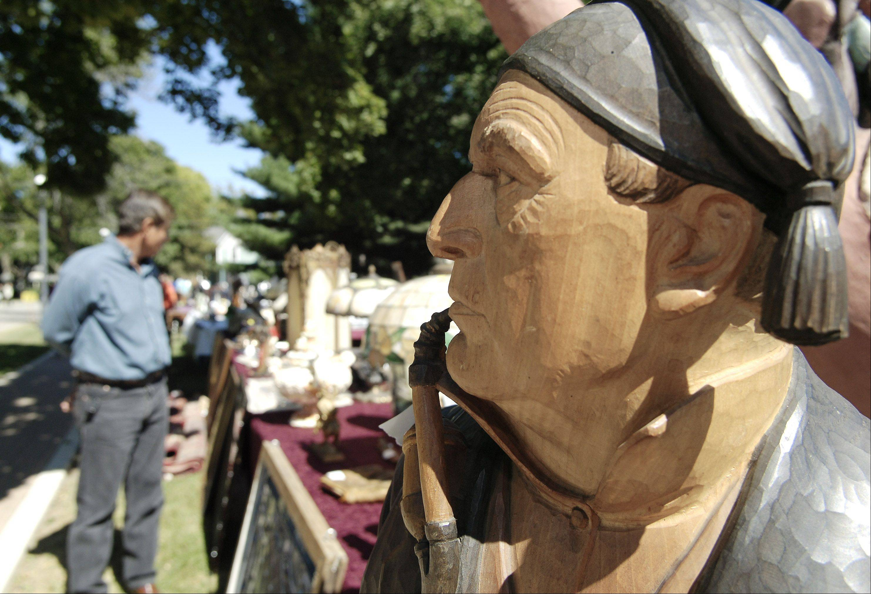 The organizers of West Dundee's Heritage Fest are looking for antique collectors and dealers to display their wares Sept. 15-16 in Grafelman Park.
