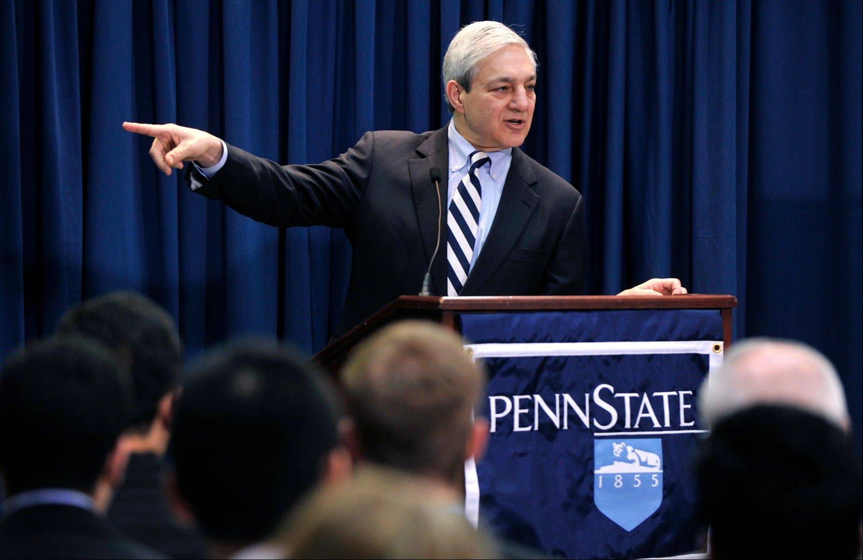 Penn State's disgraced former president Graham Spanier is trying to convince the public he had no idea that Jerry Sandusky was a child molester -- and that he most certainly did not protect one.
