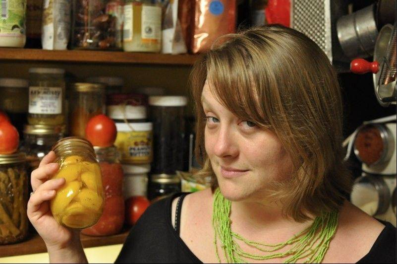 Putting these peaches in a jar for the winter is rewarding financially and emotionally, says Marisa McClellan, a nationally acclaimed author and canner appearing at Saturday's farmers market in Batavia.