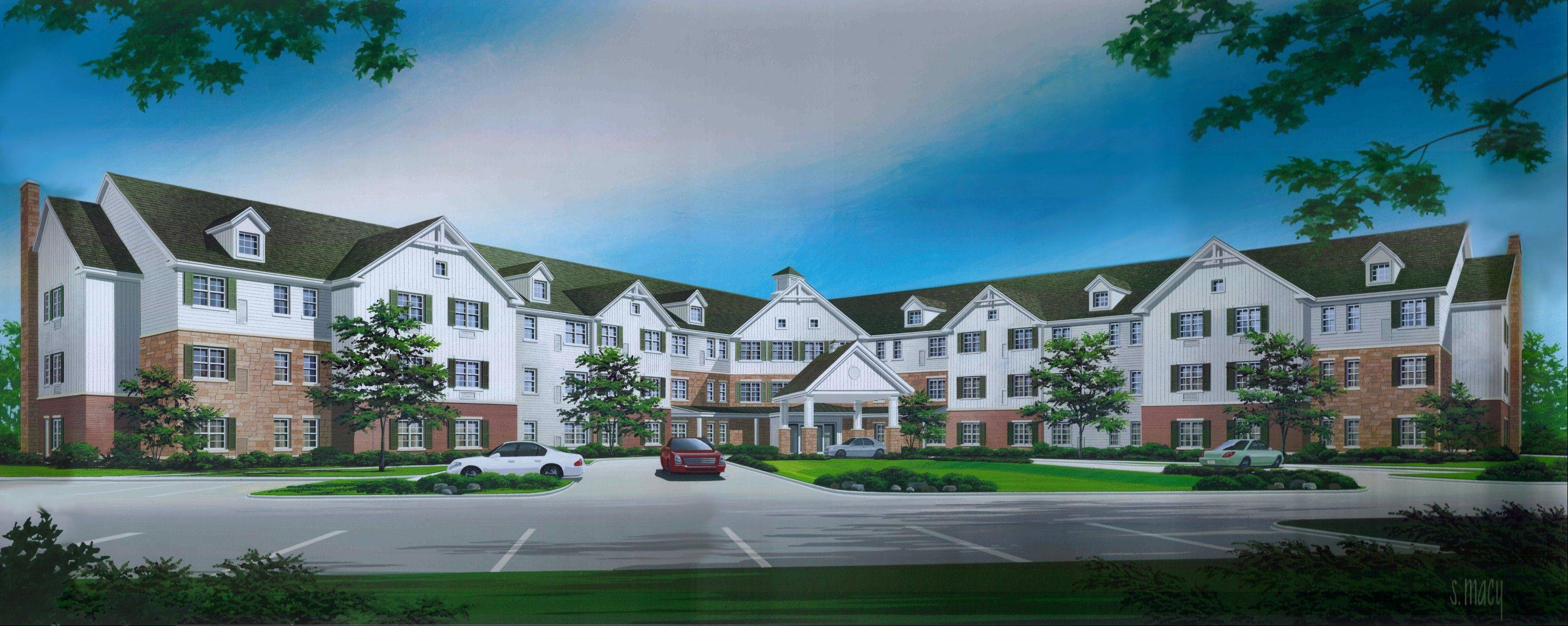 The Deer Path Supportive Living Community is now under construction in Huntley at 12500 Regency Parkway. The community, reserved for physically disabled adults between the ages of 22 and 64, is expected to open in July 2013.