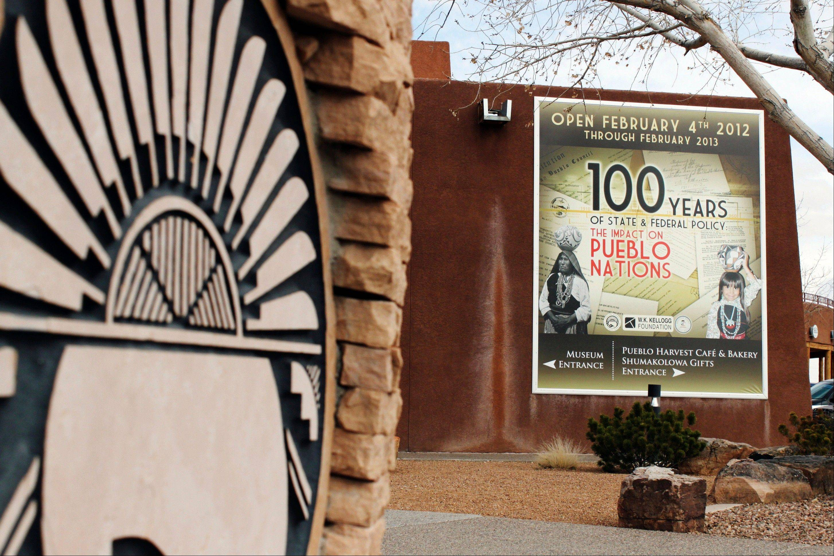 The Indian Pueblo Cultural Center in Albuquerque, N.M., is hosting a special exhibition highlighting 100 years of state and federal policy and the effects on New Mexico's pueblos.
