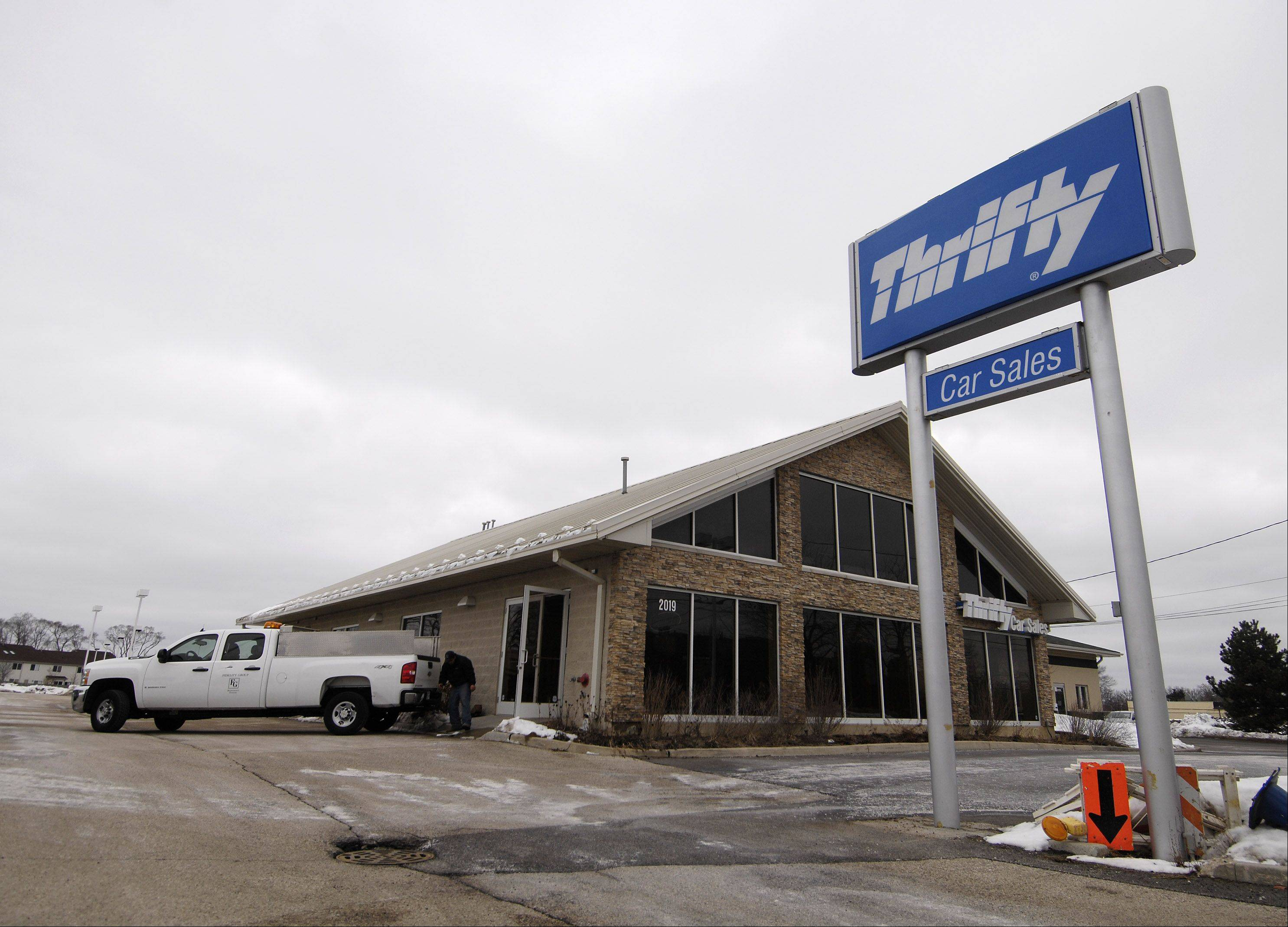 Dollar Thrifty car rental may be purchased by Hertz.