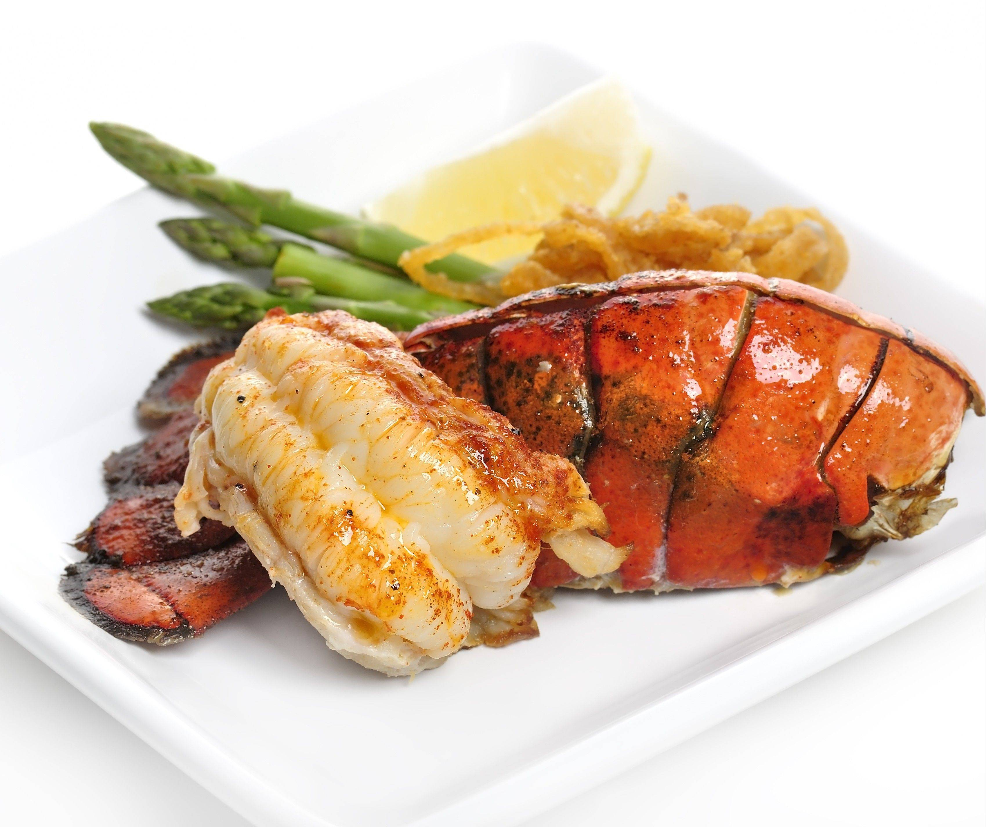 The price you pay for lobster in a restaurant is determined more by the restaurant market than the lobster market.