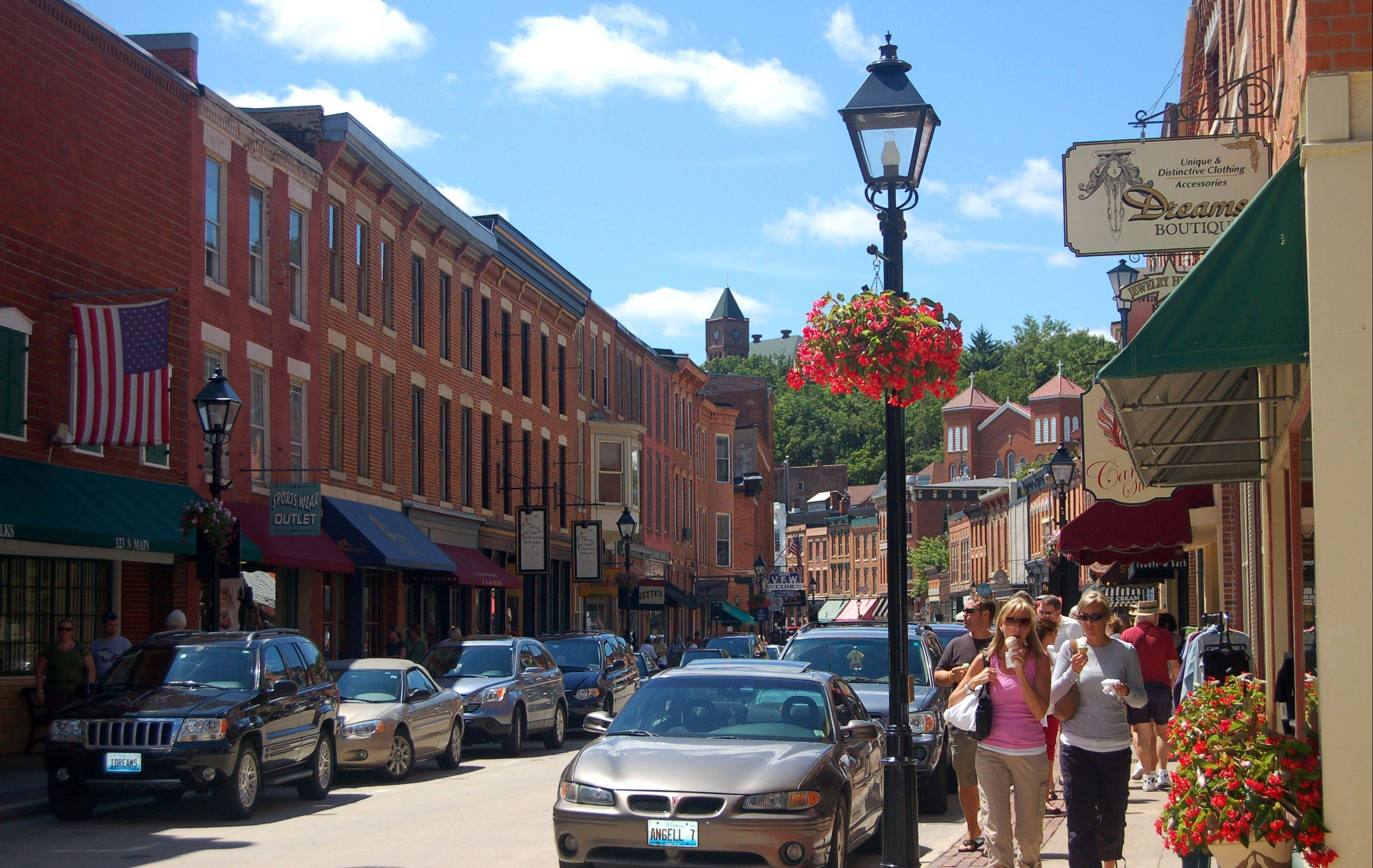 Ladies can enjoy Galena's historic Main Street during the 19th Annual Galena Girlfriends' Getaway weekend Sept. 7-9.