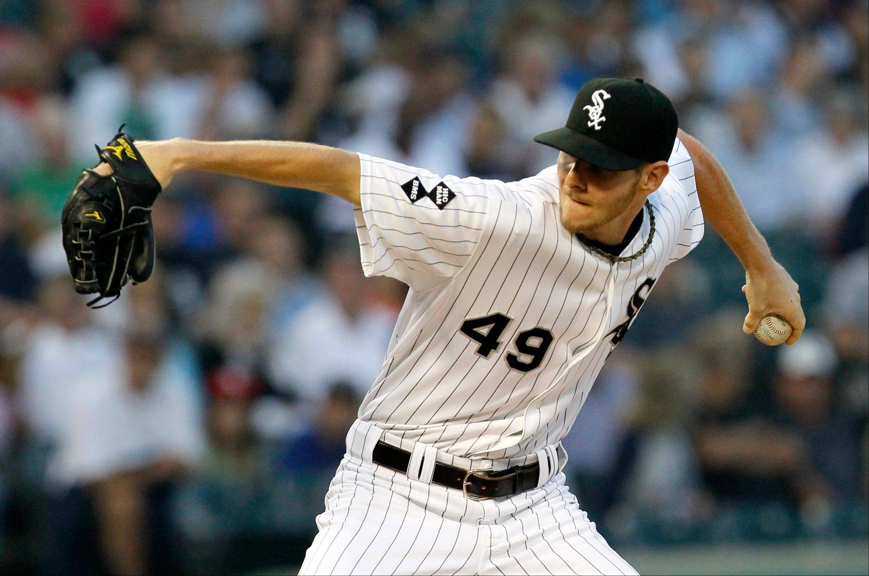 There are five solid contenders for the AL Cy Young Award this season, and Chris Sale of the White Sox is one of them.