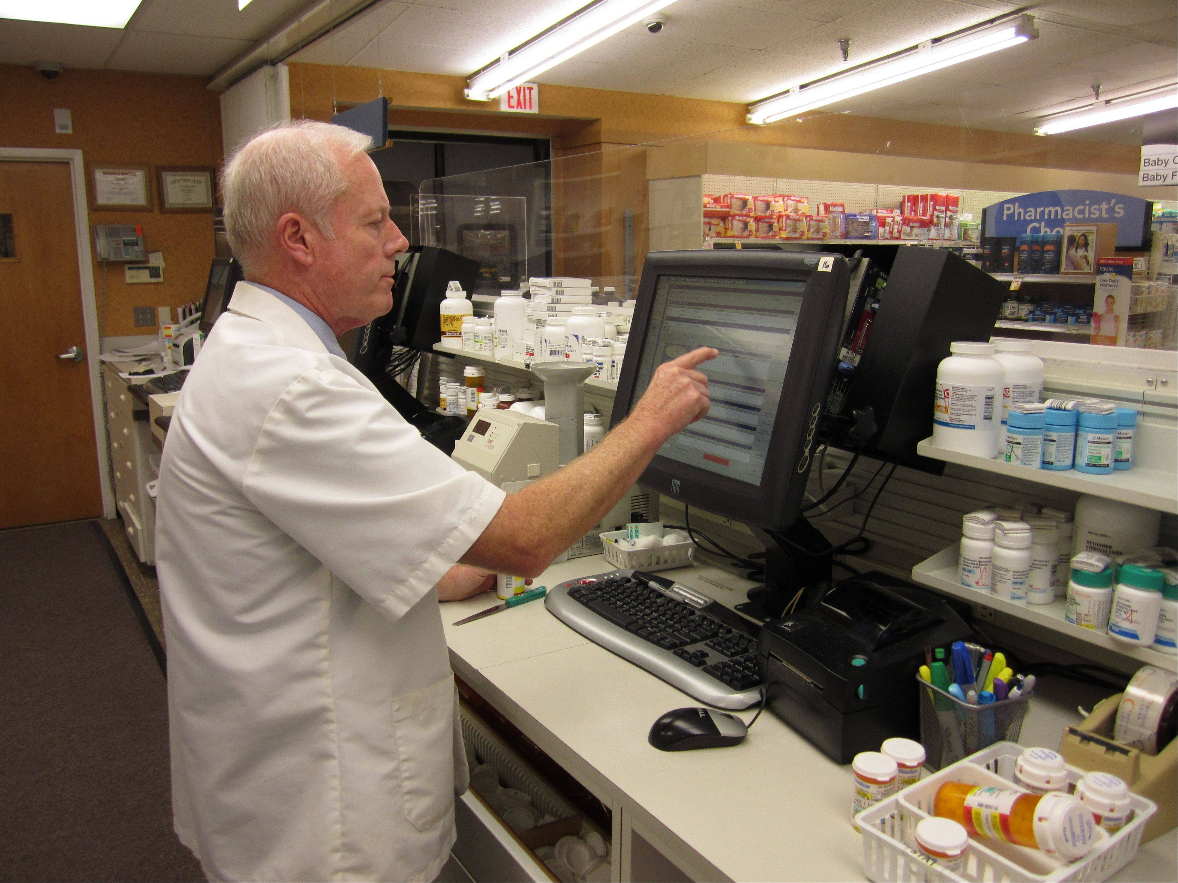 Ray Kelly has been a pharmacist with Osco for nearly 40 years.