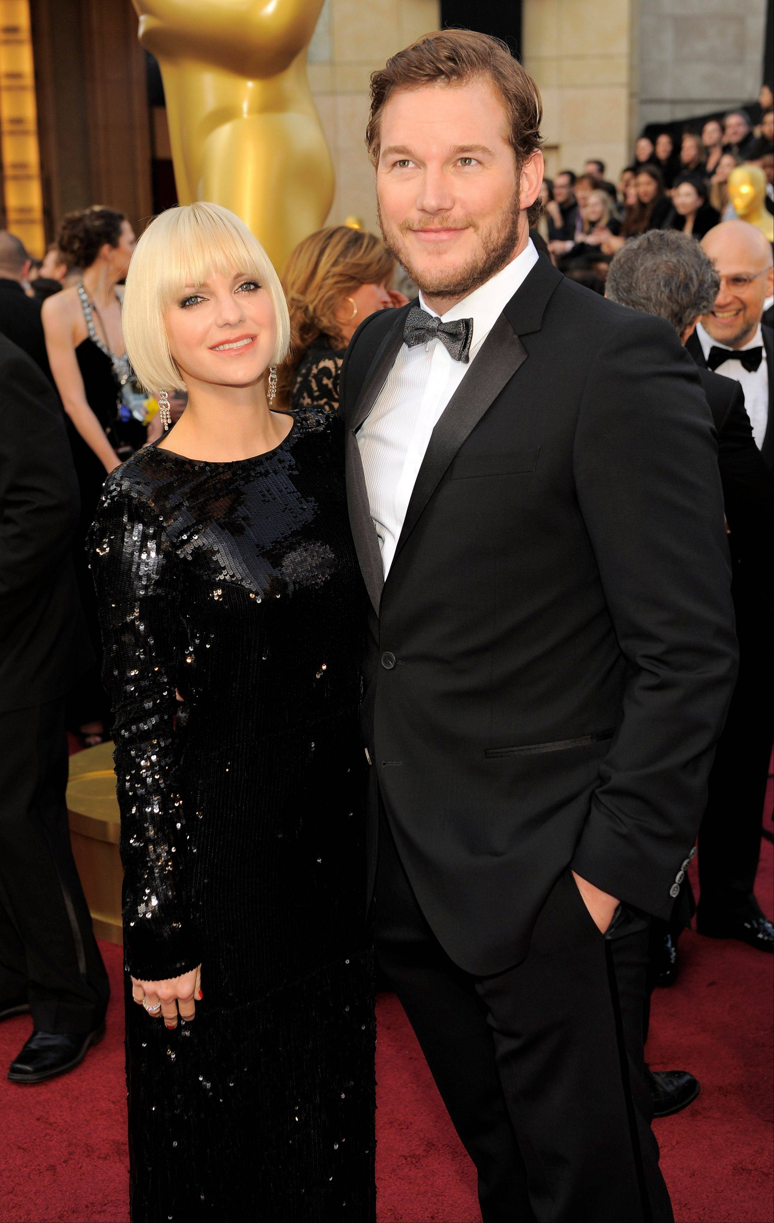 Anna Faris has given birth to a baby boy, her first child with her actor husband, Chris Pratt.
