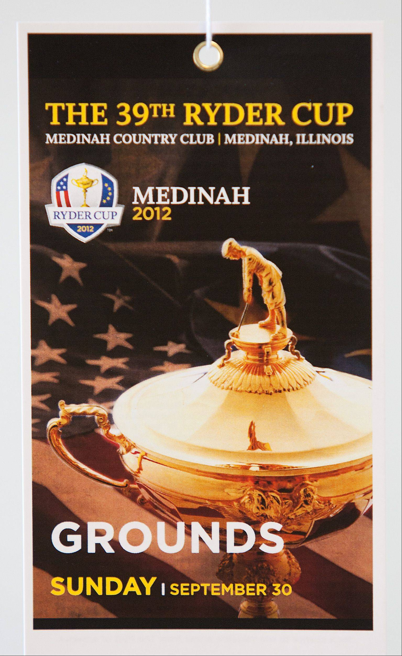 Eric Schmidt, executive director of the Ronald McDonald charities office in Oak Brook, is selling tickets to the sold out Ryder Cup. Just prepare to plunk down a few extra bucks, especially for Sunday September 30.