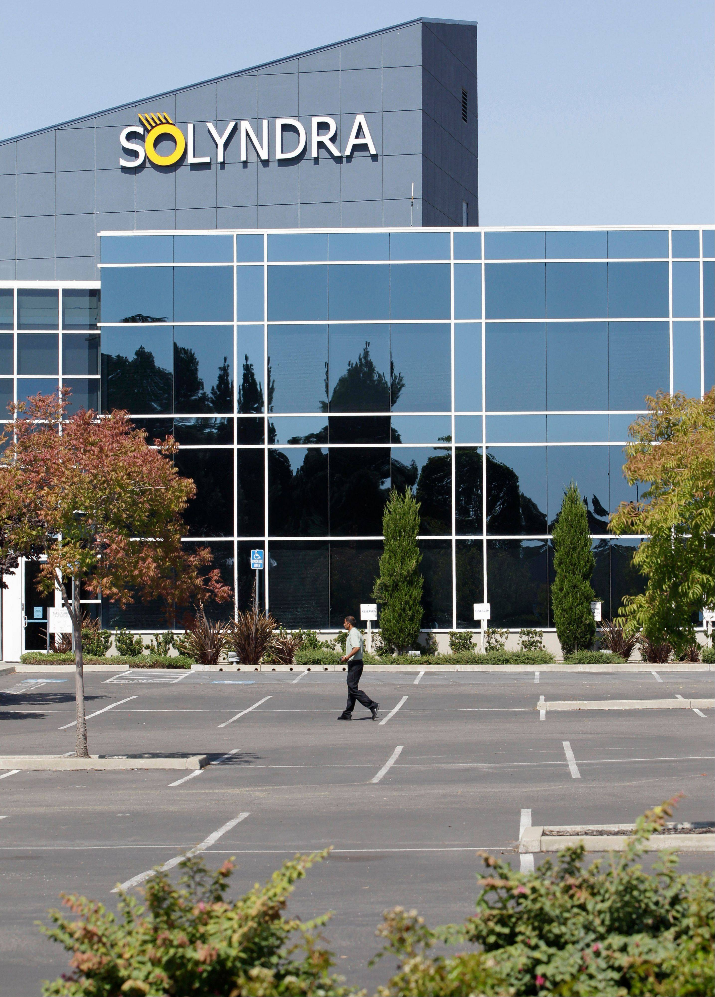 Financially troubled Solyndra, a solar energy company, is trying to form a reorganization plan.