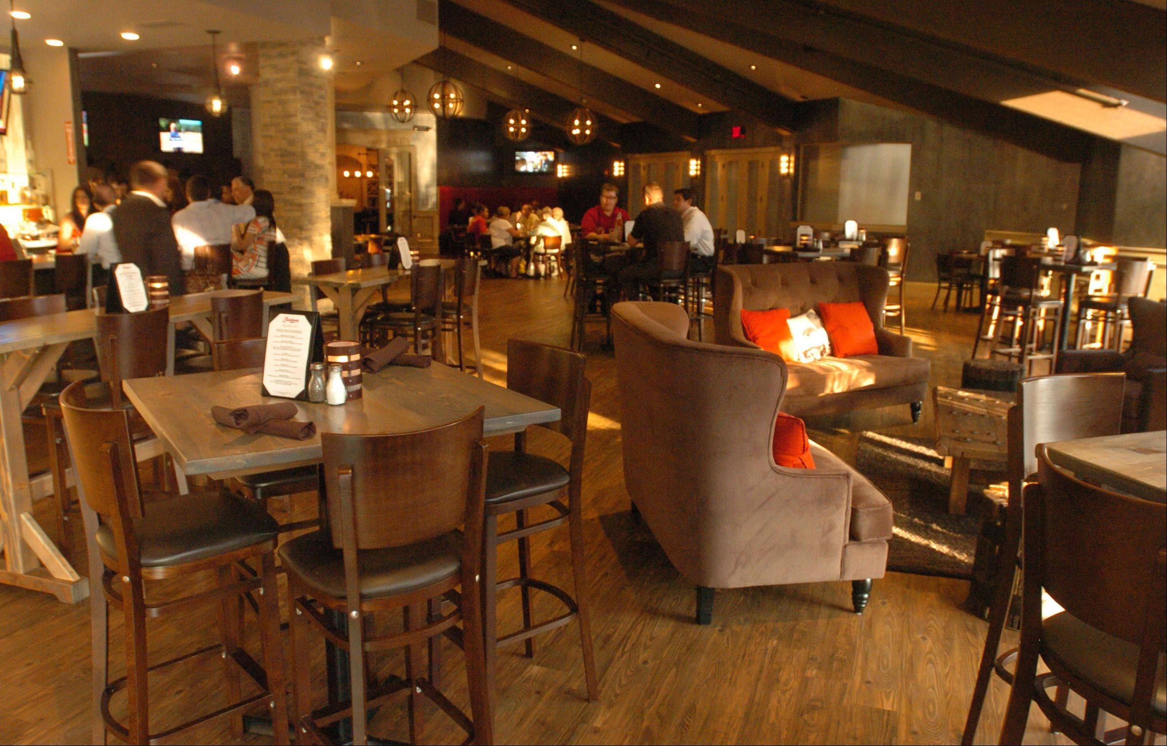 Trademark Tavern in Lombard comes across as upscale yet casual.