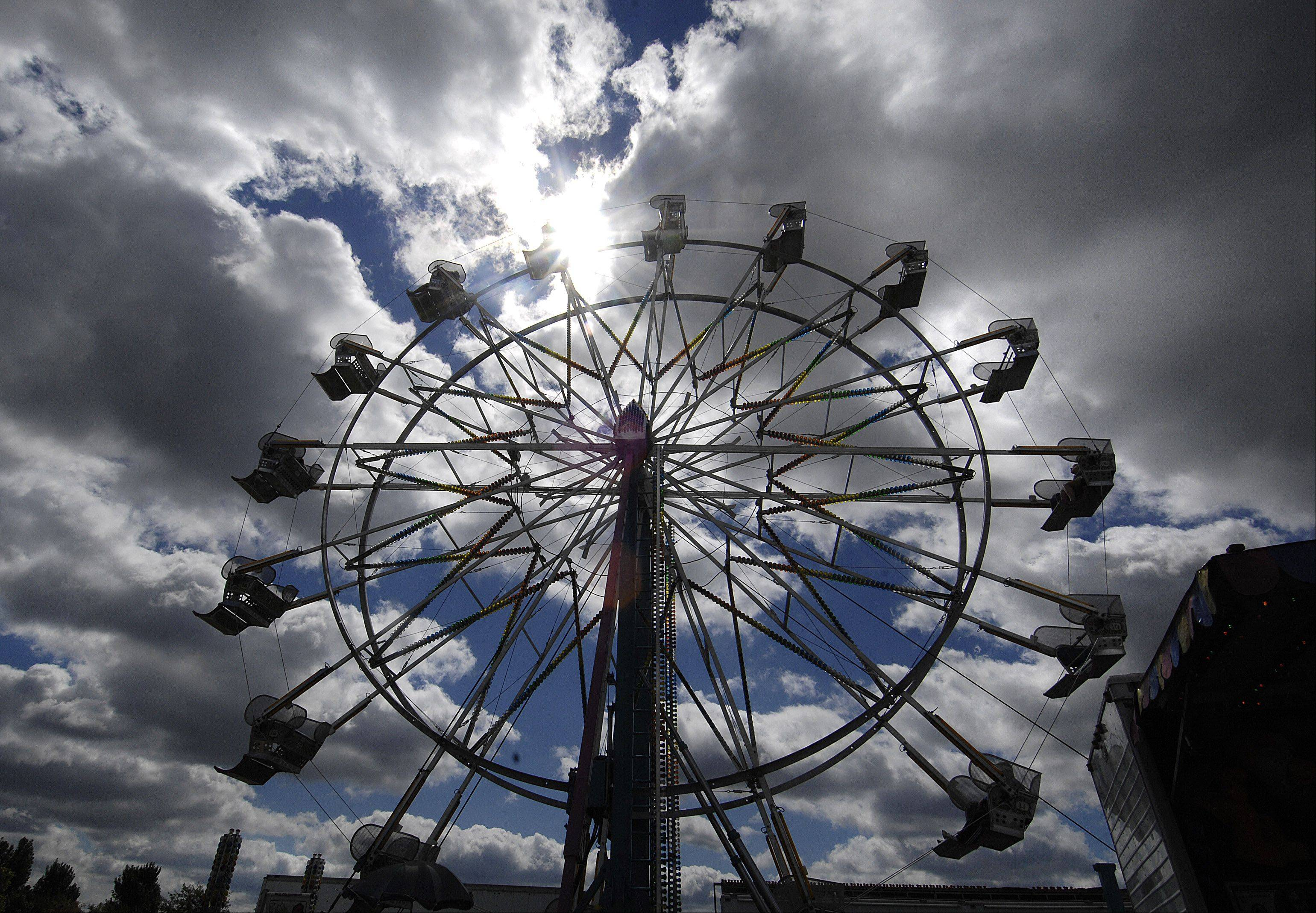 Carnival rides are a big part of Lake in the Hills' annual Summer Sunset Festival, held at Sunset Park on Miller Road. The annual three-day festival ends with fireworks at 9:30 p.m. Sunday, Sept. 2.