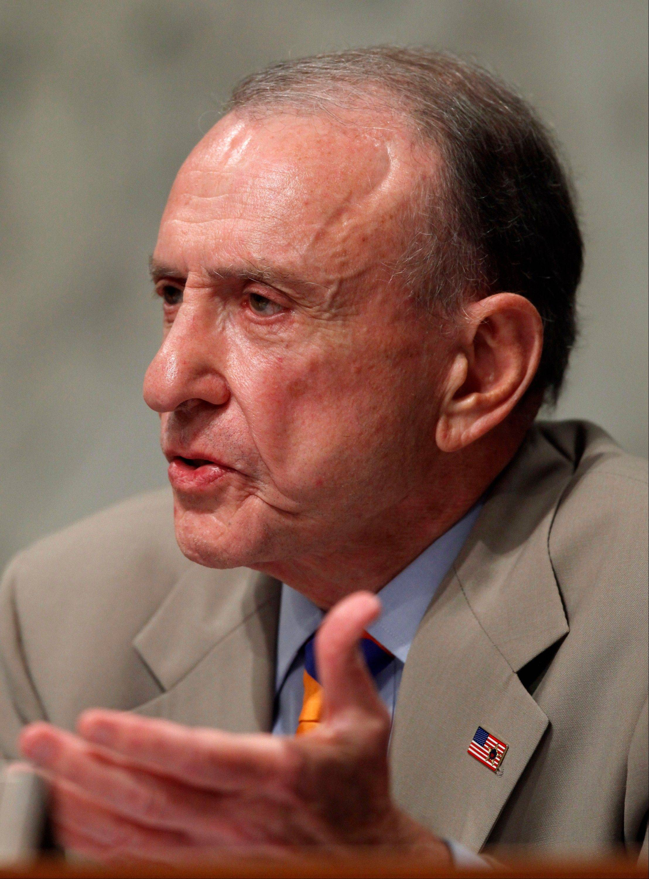 "Former Sen. Arlen Specter confirmed Tuesday he is fighting cancer again, calling the latest diagnosis ""another battle I intend to win."""