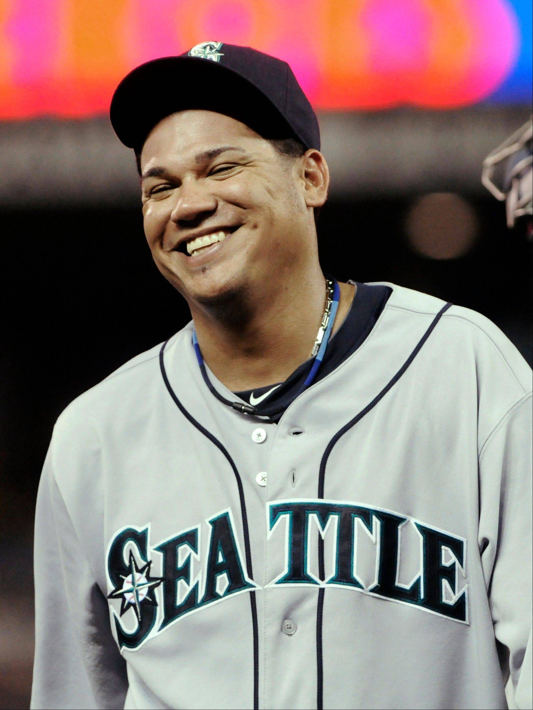 Seattle Mariners pitcher Felix Hernandez hasn't lost a decision since June 12.