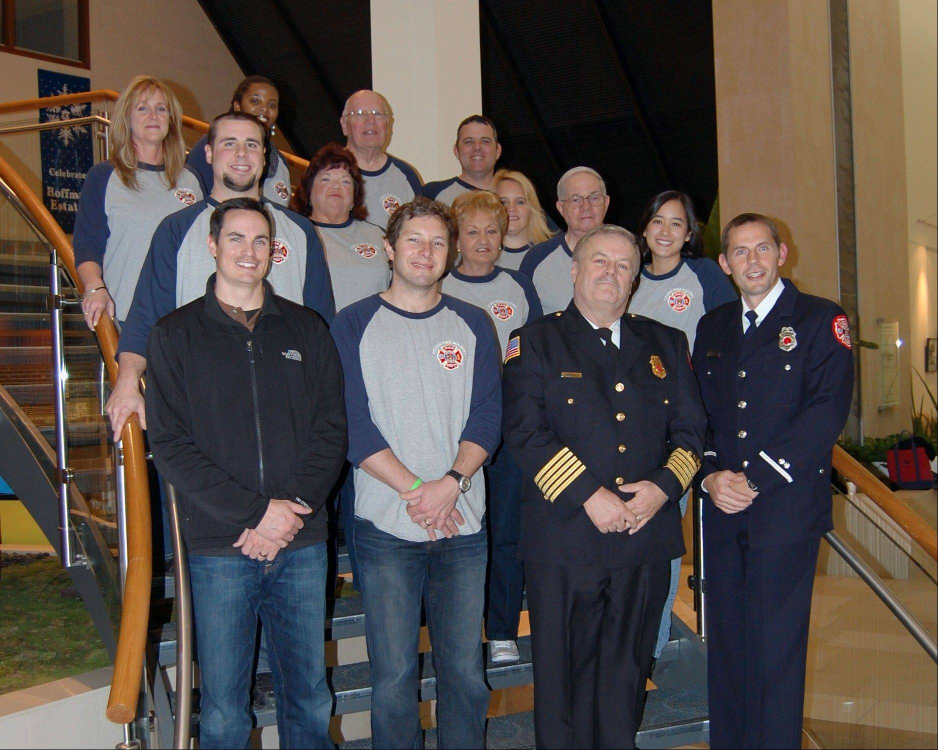 Graduates from the 2011 Hoffman Estates Citizen Fire Academy.