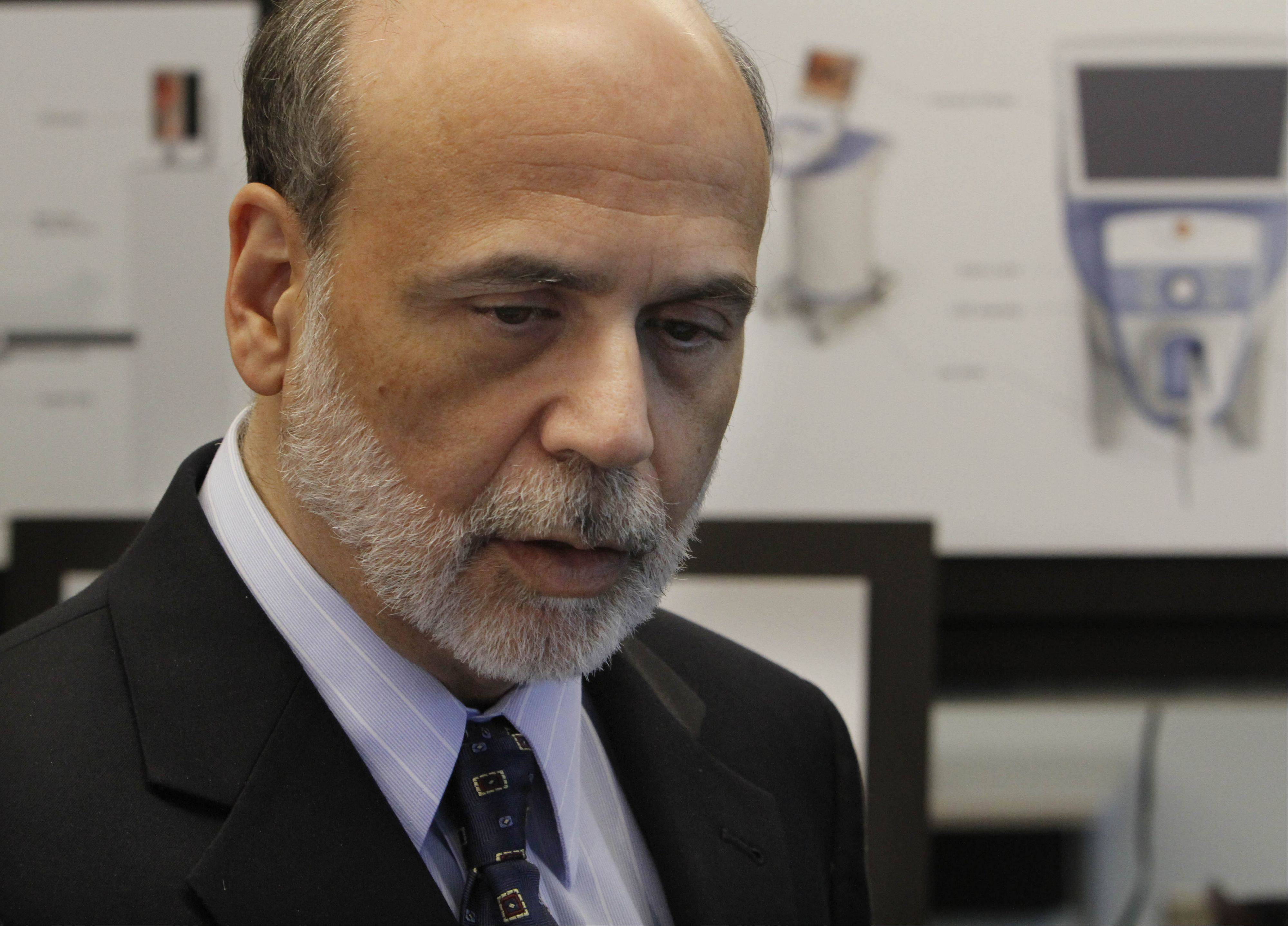 Federal Reserve Chairman Ben Bernanke could signal future moves in a speech Friday.