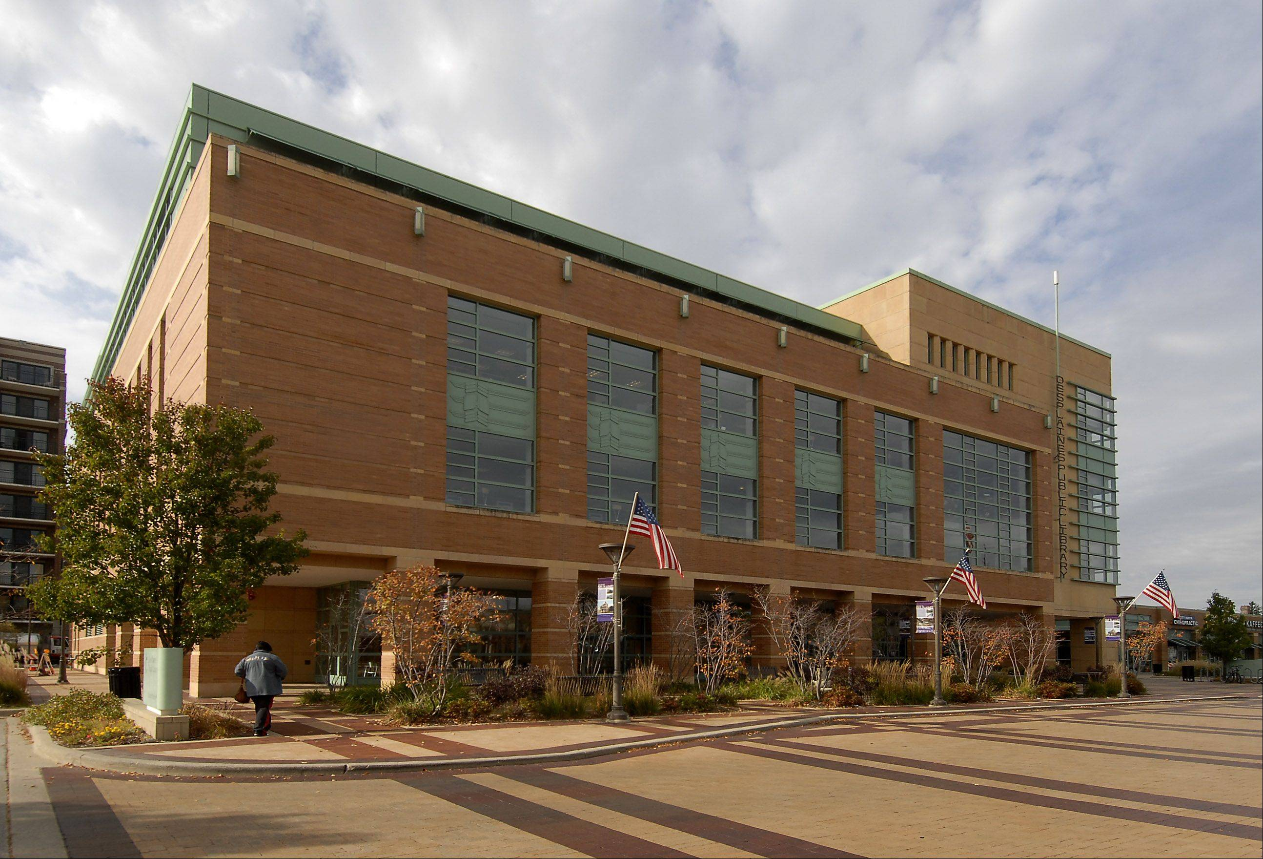 The Des Plaines library budget includes $85,000 for reorganizing wired computer terminals for public use on the fourth floor.