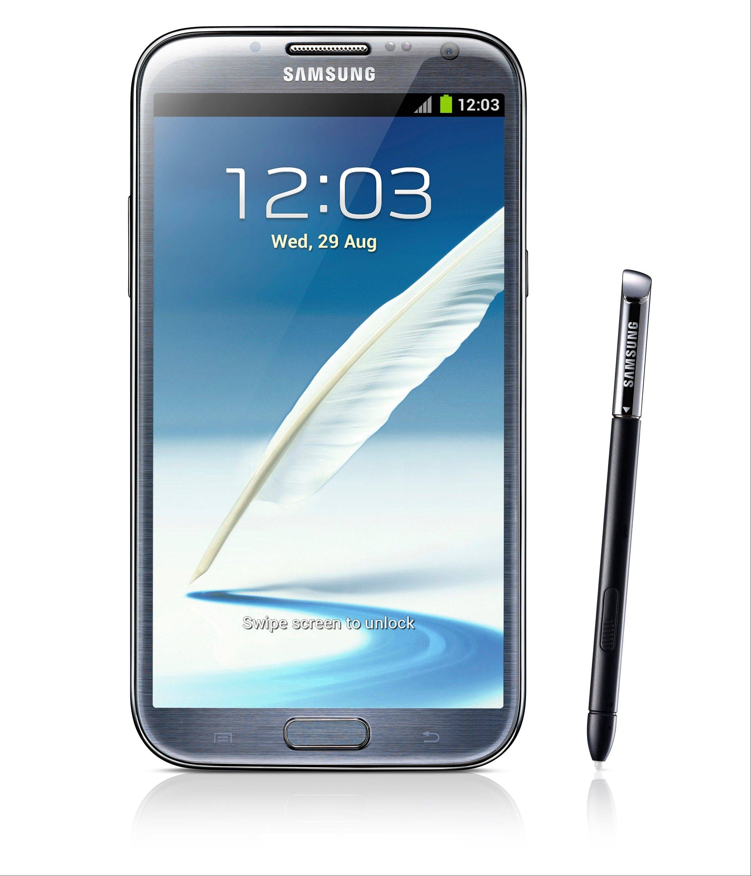 Samsung, the world's largest maker of phones, announced Wednesday, just days after a wounding legal battle with Apple, that the company will be revealing the Galaxy Note II, an offbeat, oversized smartphone that's become a surprise hit.