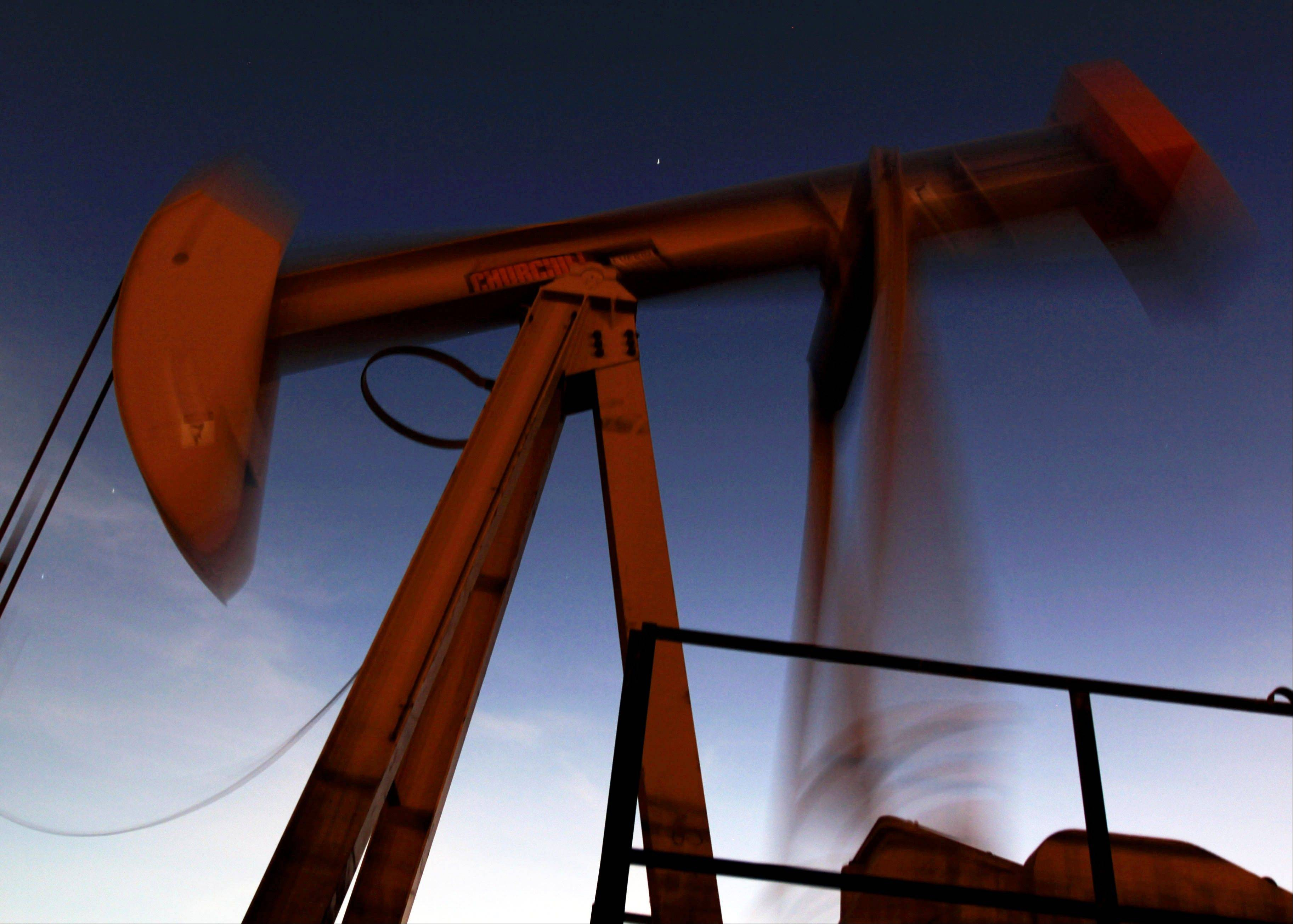 Crude prices fell Wednesday after finance ministers from the world's leading industrialized economies called on oil producers to increase output and said they stood ready to ask the International Energy Agency to release strategic reserves.