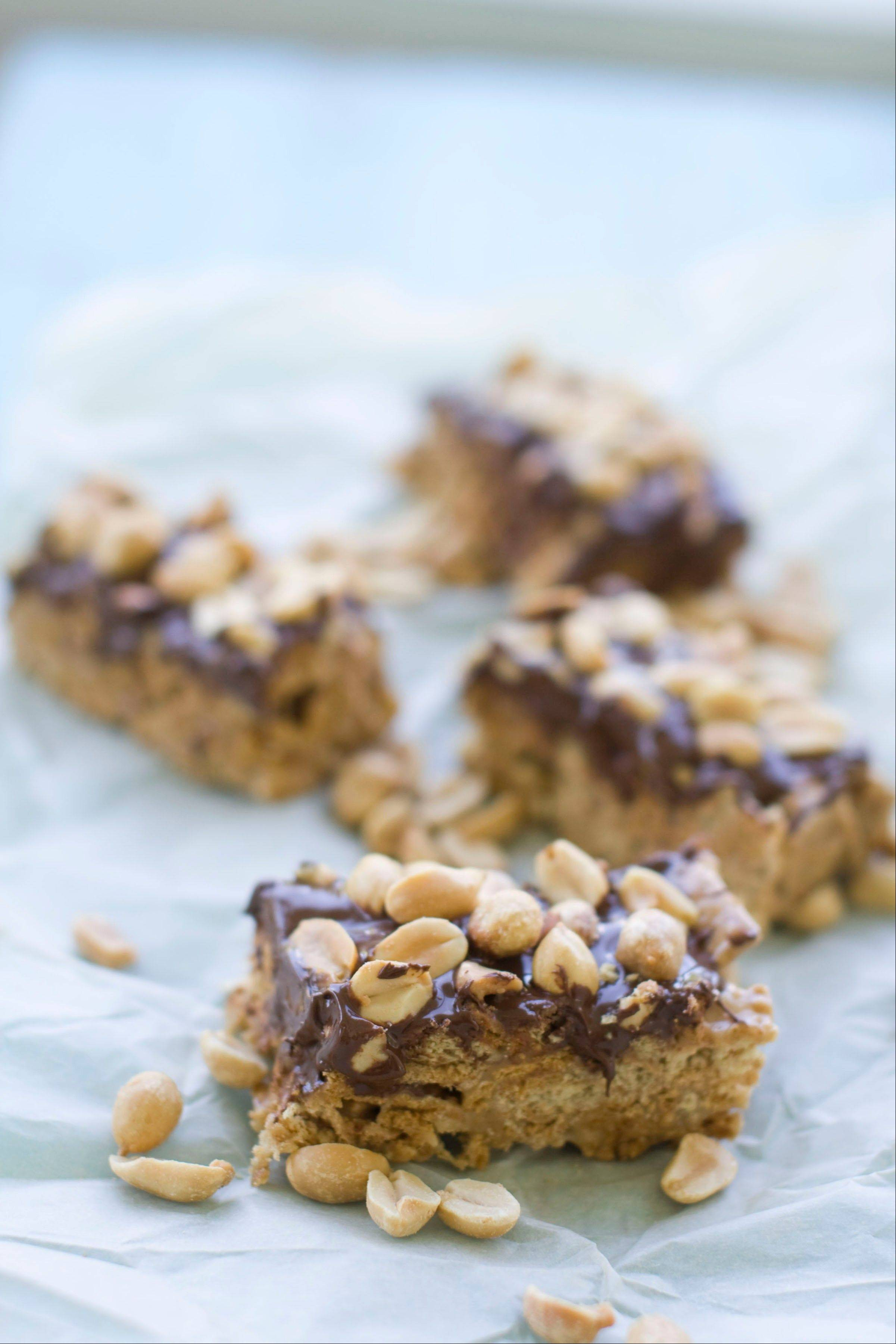 What could be better than a s'mores after school? A Peanut Butter S'Mores Bars, of course.