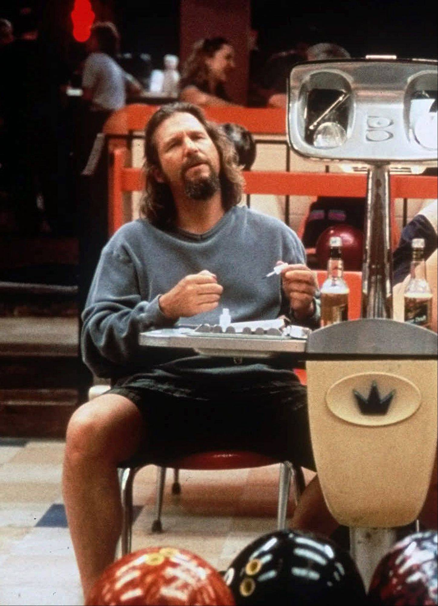 "Jeff Bridges as ""The Dude"" in the Coen Brothers' 1998 cult film ""The Big Lebowski."""