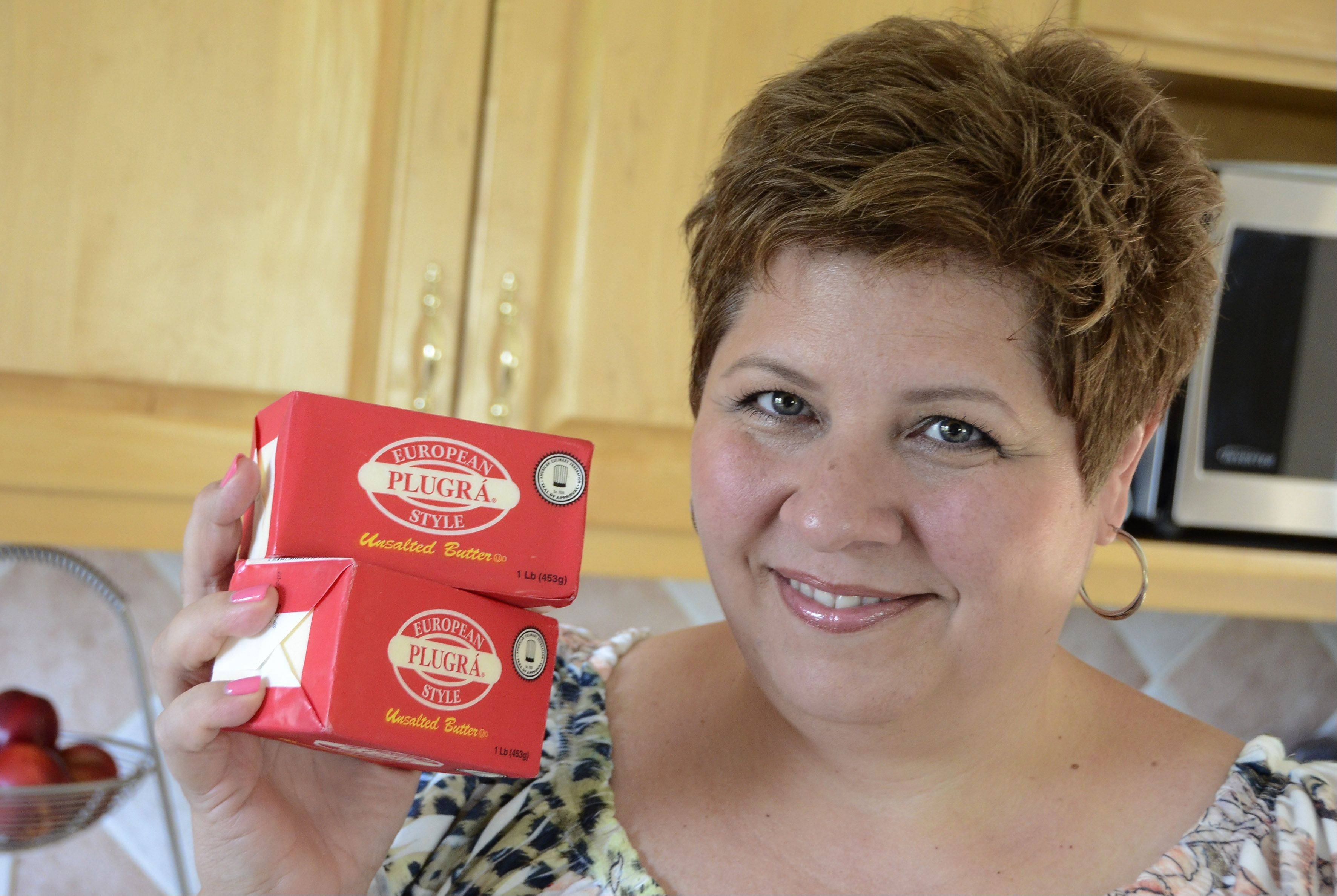 Bill Zars/bzars@dailyherald.comFormer cook of the week contestant Louann Zundel of Des Plaines is now a cook of the year contestant. Her favorite cooking ingredient is butter.