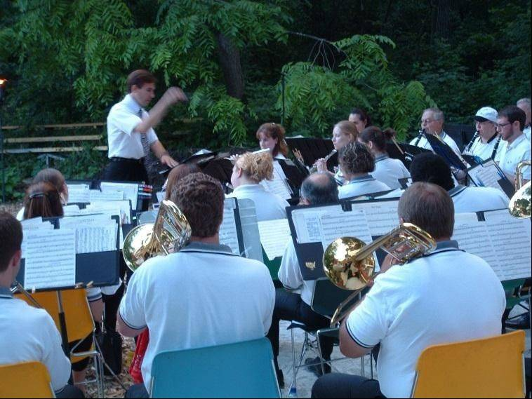The Spring Valley Concert Band will perform from 5:30-8 p.m. Saturday, Sept. 8, at the Merkle Log Cabin at Spring Vallen Nature Center, 1111 E. Schaumburg Road, in Schaumburg.