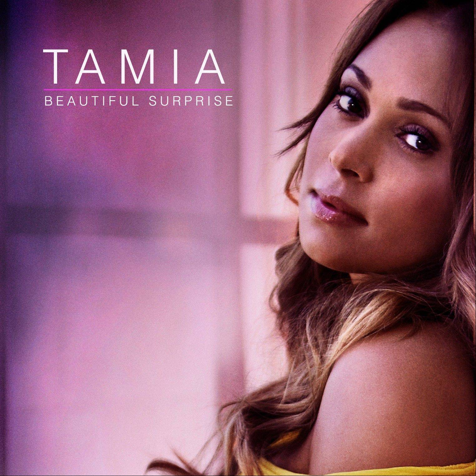 This CD cover image released by Plus 1 Music Group shows the latest release by Tamia, �Beautiful Surprise.�