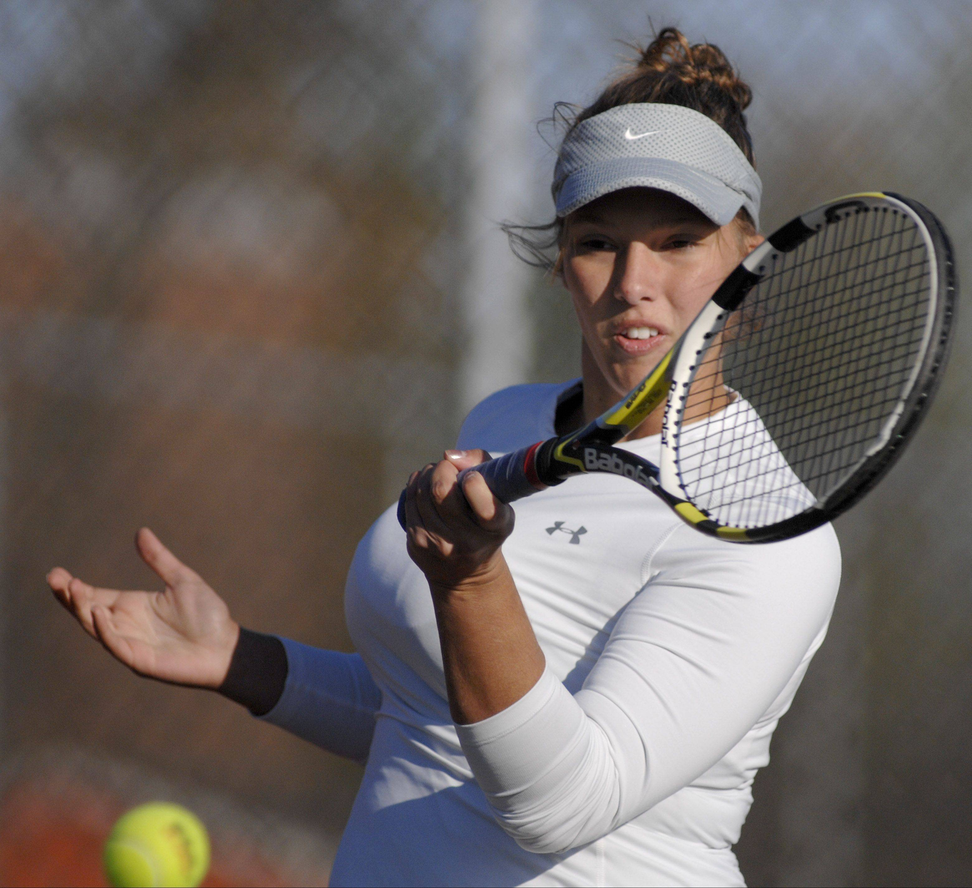 Bartlett junior Jen Gates will be seeking her third straight state tournament berth this season.