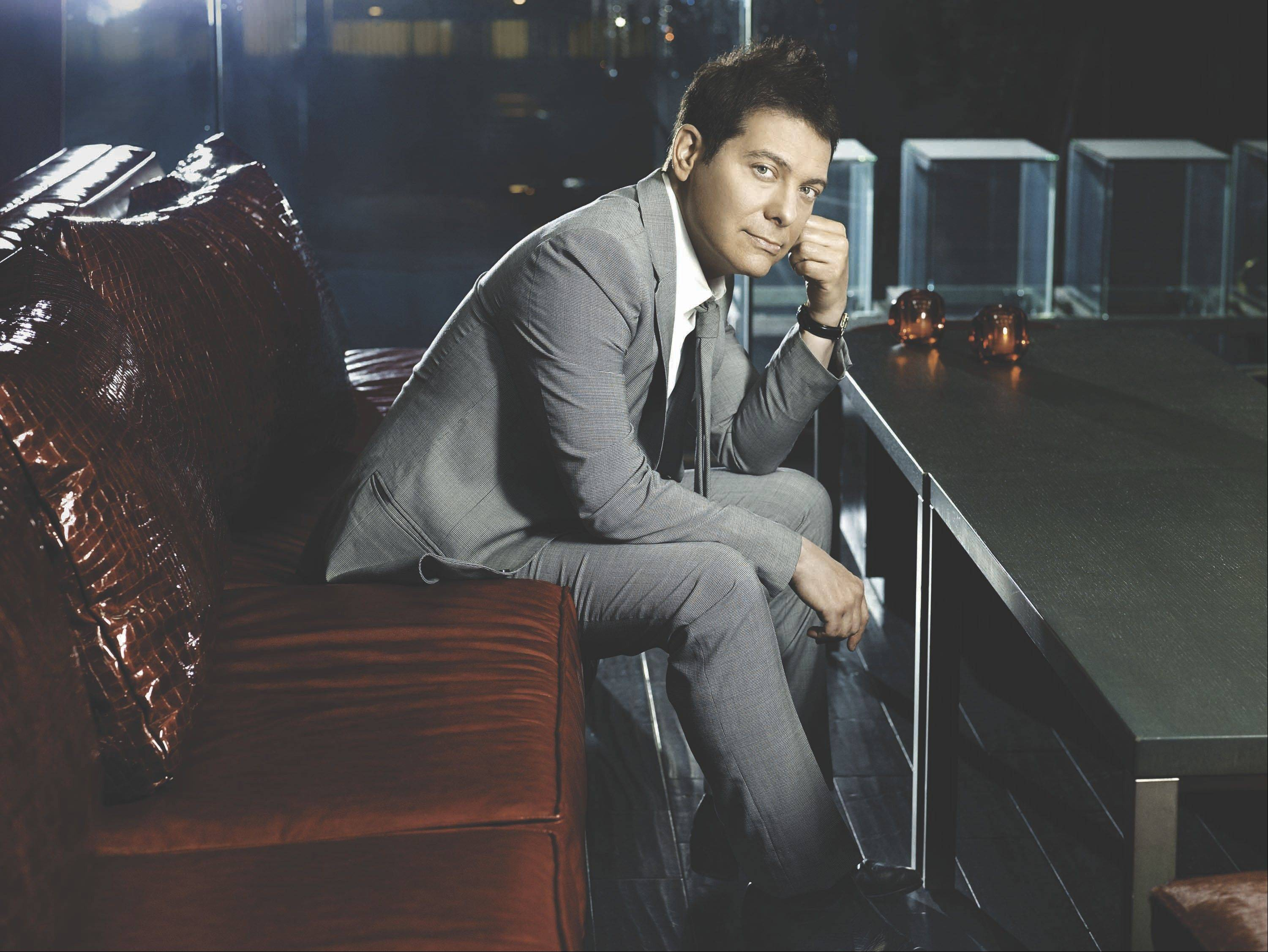 Michael Feinstein performs in Chicago Sept. 29.