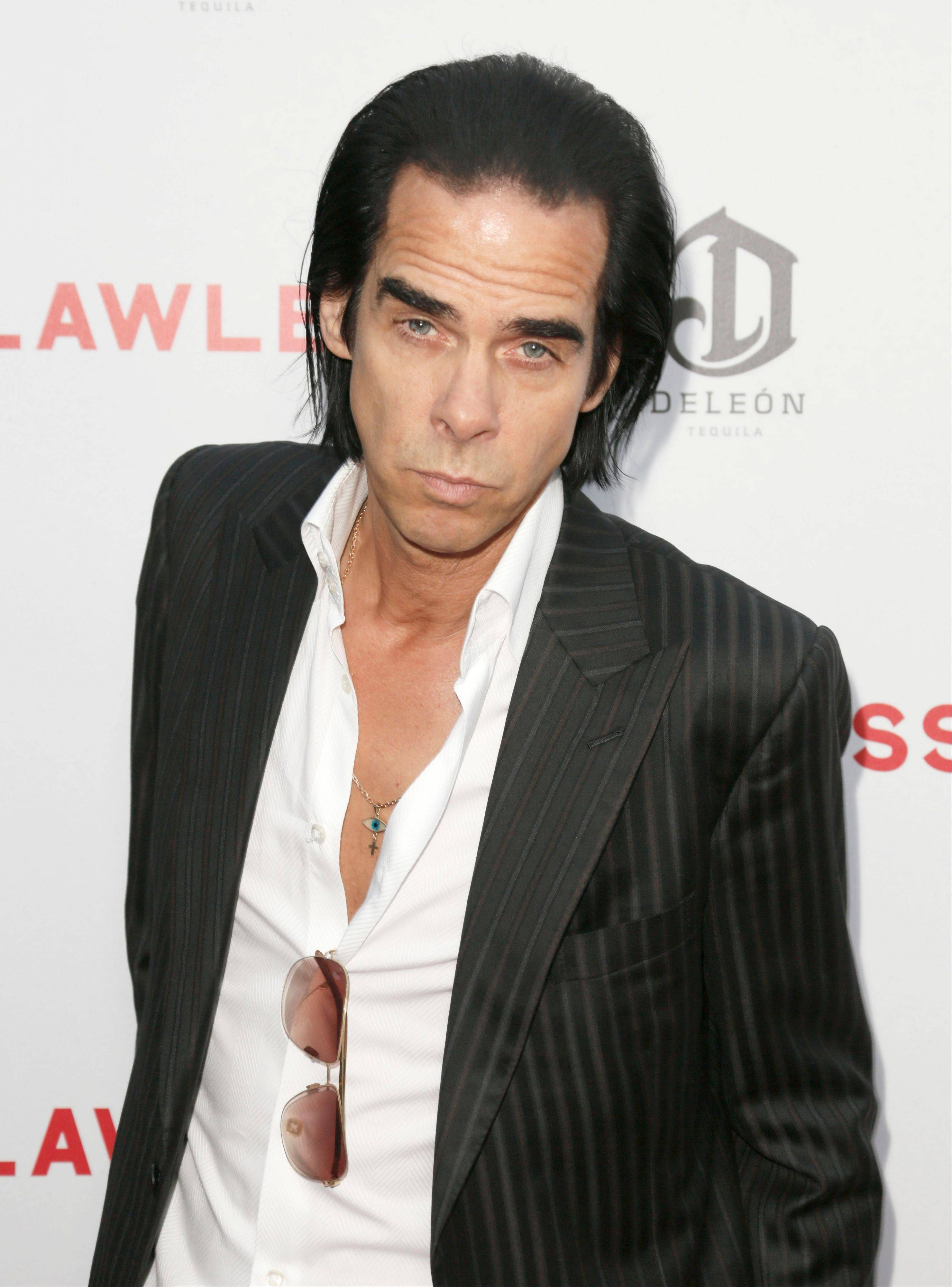 "Nick Cave, the Australian singer-songwriter, has gradually expanded beyond music into fiction, poetry and screenwriting. His new film, ""Lawless,"" which stars Shia LaBeouf and Tom Hardy, is his second film with director John Hillcoat following the even bloodier Aussie Western ""The Proposition."""