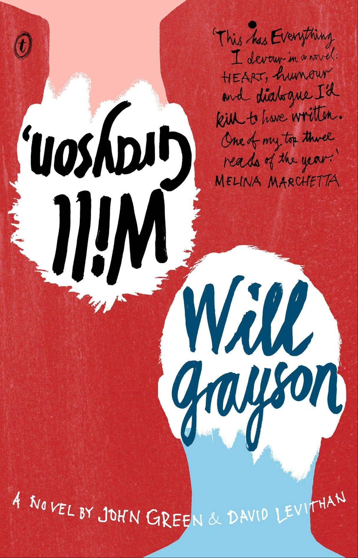 """Will Grayson, Will Grayson,"" by John Green and David Levithan"